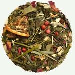 Groene gearomatiseerde thee