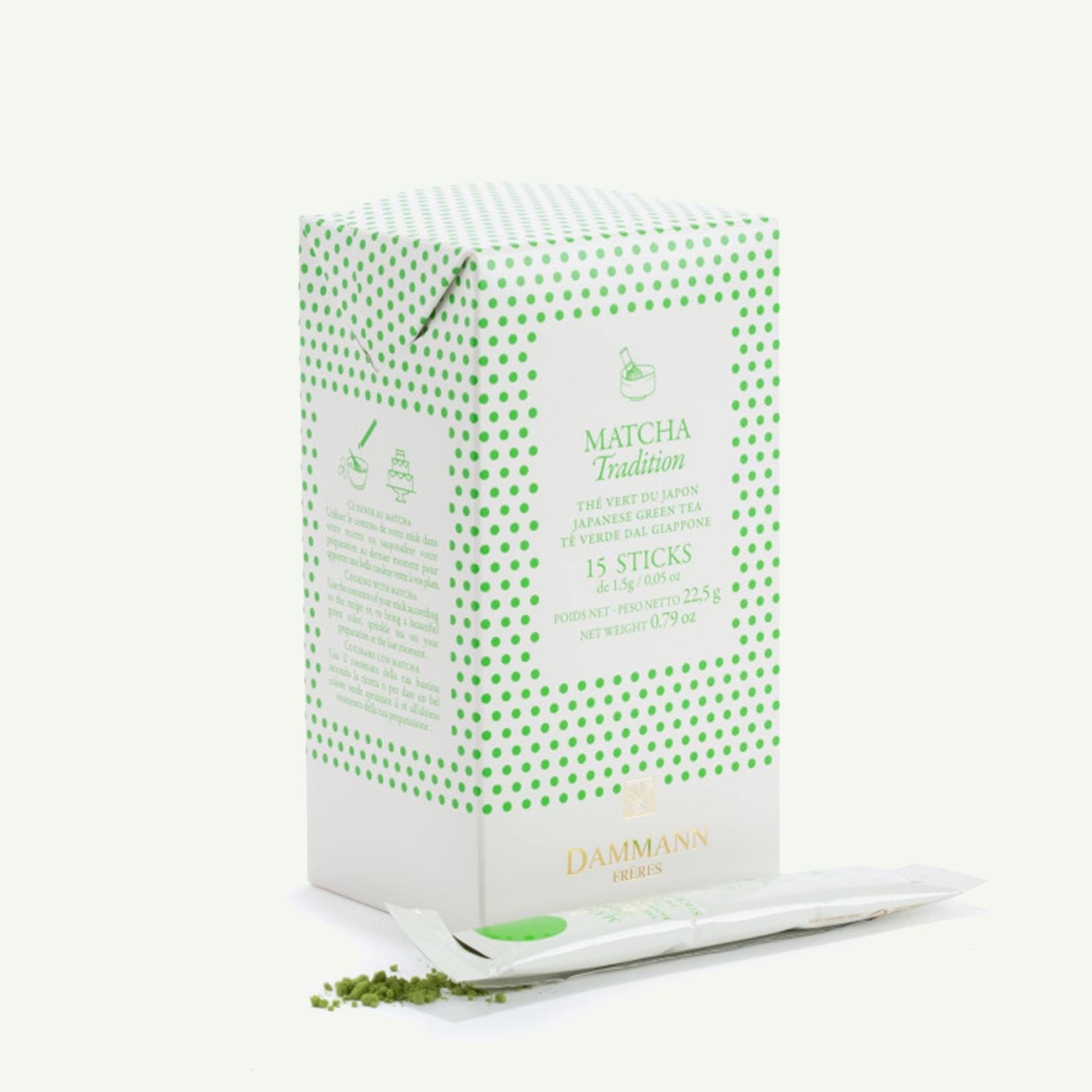Dammann Dammann 'Matcha Tradition Sticks - Green tea Japan 15 x 1'