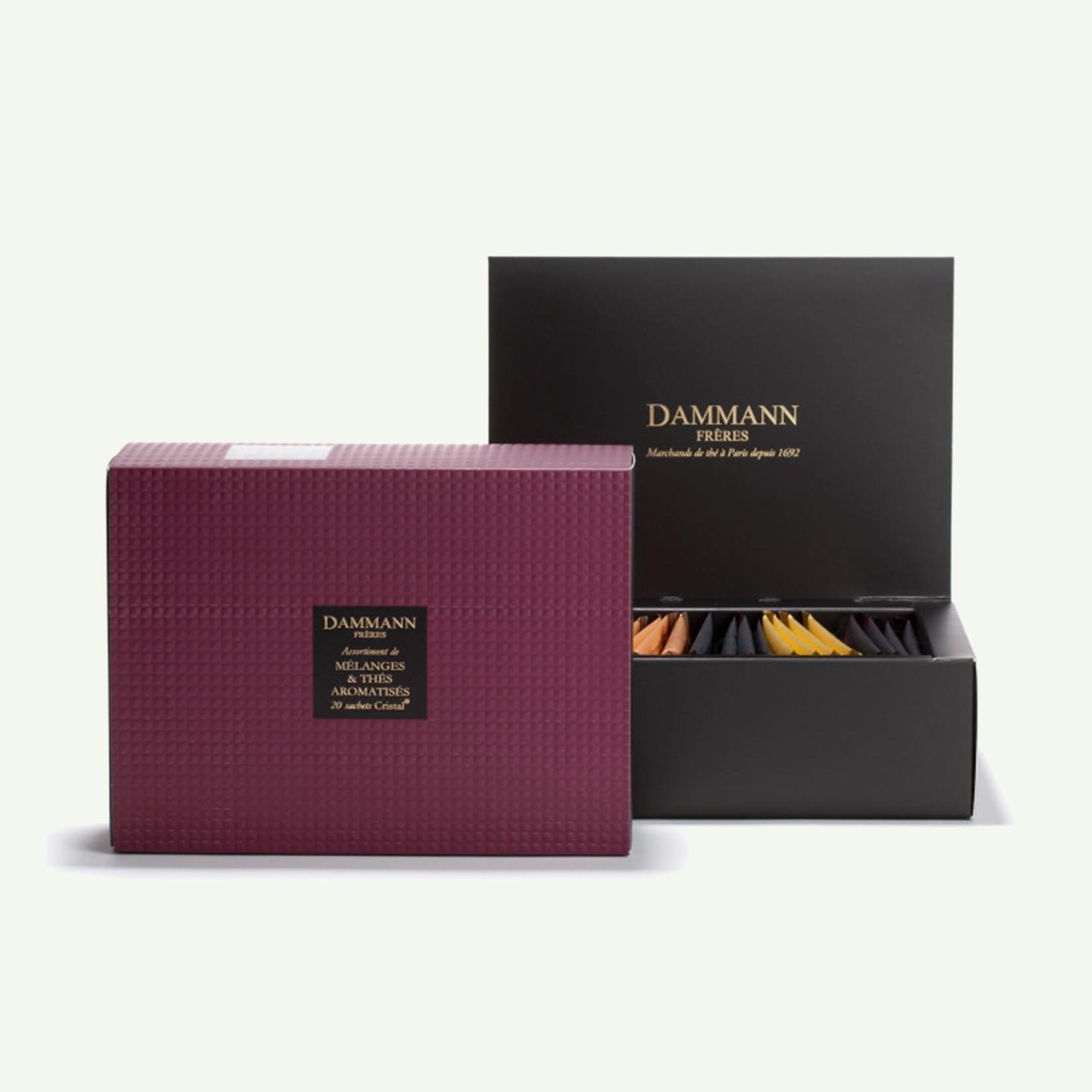 "Dammann Dammann ""Grenat"" Gift Set van 20 theezakjes - Gearomatiseerde blends"