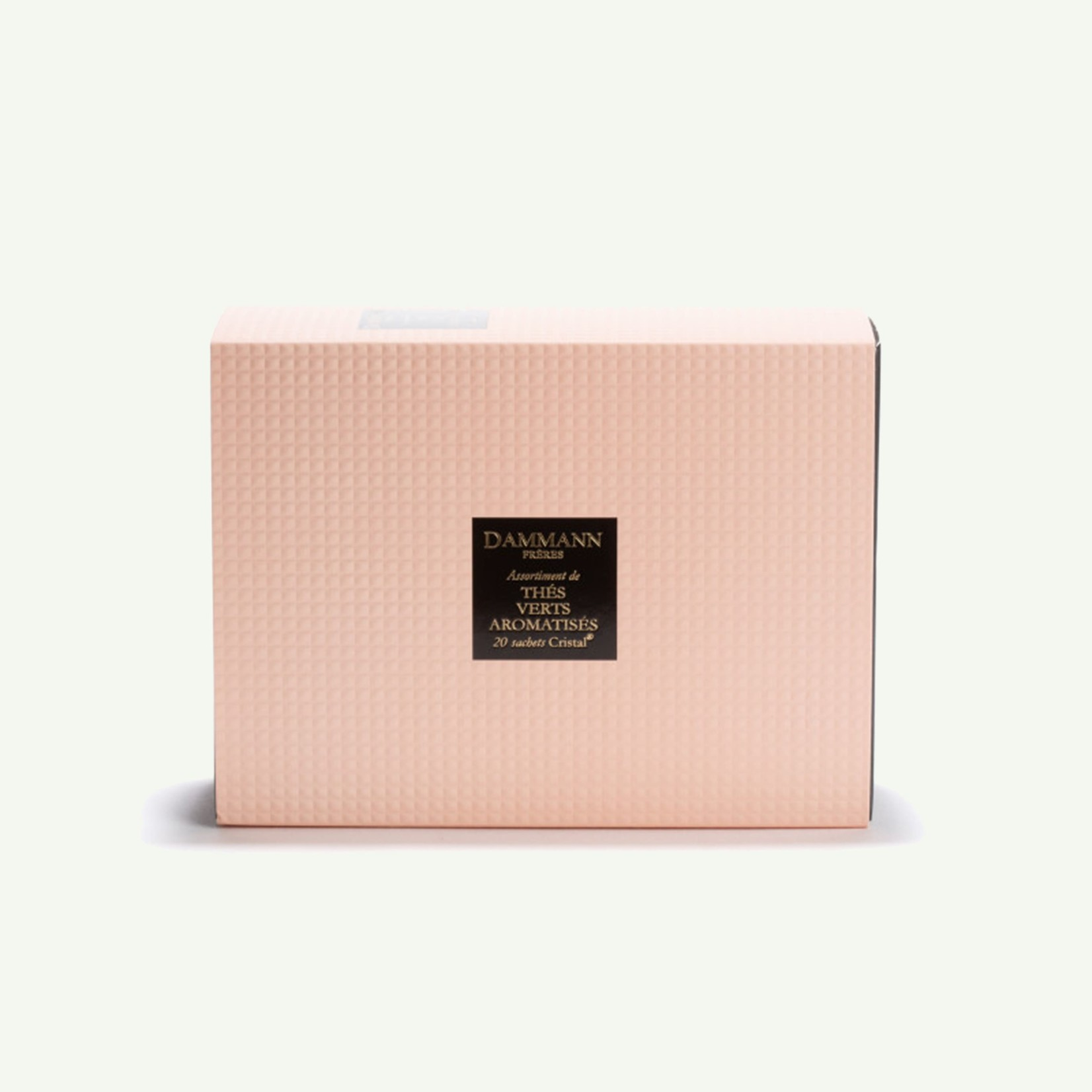 "Dammann Dammann ""Quartz"" Gift Set Assortiment van 20 Theezakjes - Gearomatiseerde groene thee"
