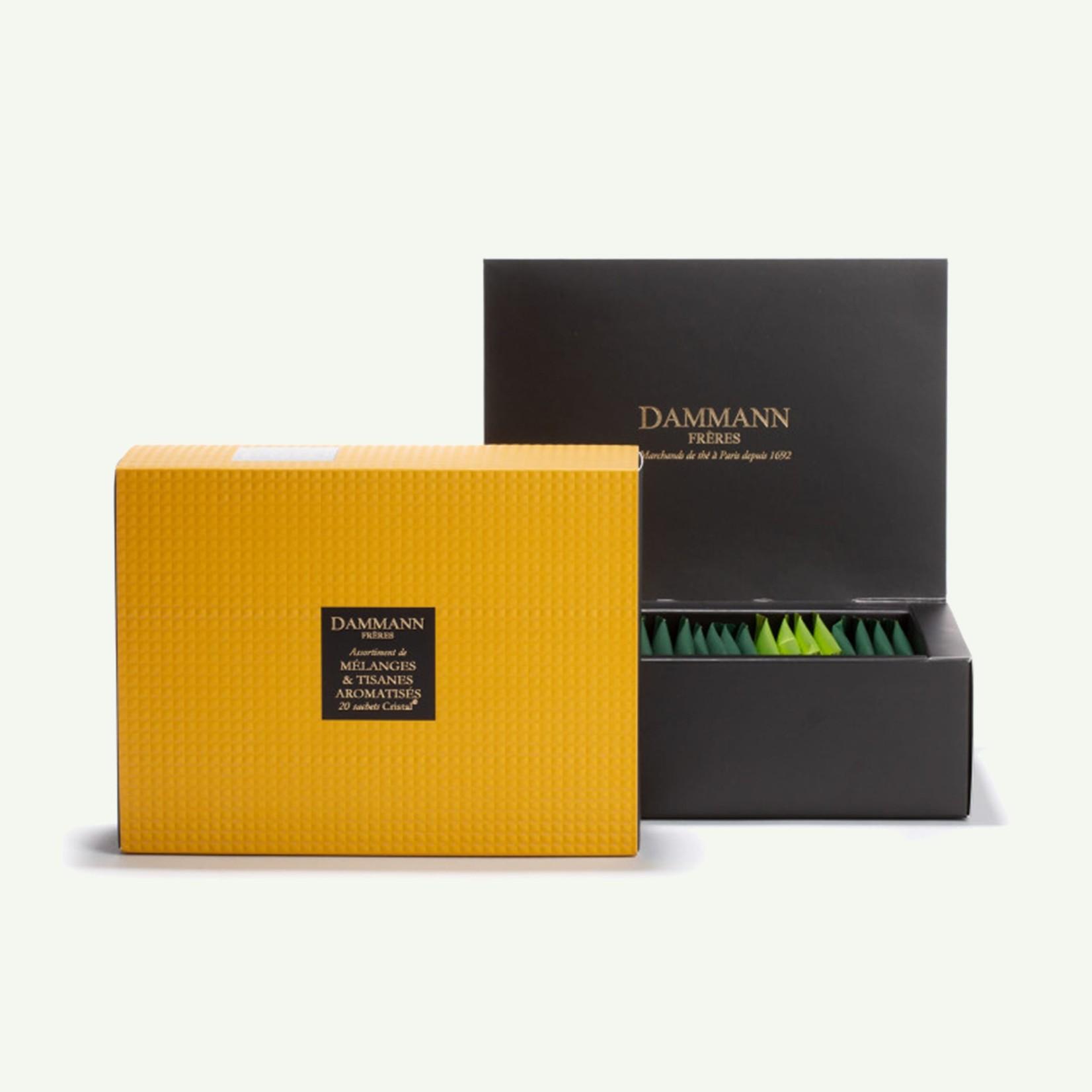 """Dammann Dammann """"Topaze"""" Gift Set Assortiment van 20 theezakjes - Infusie"""