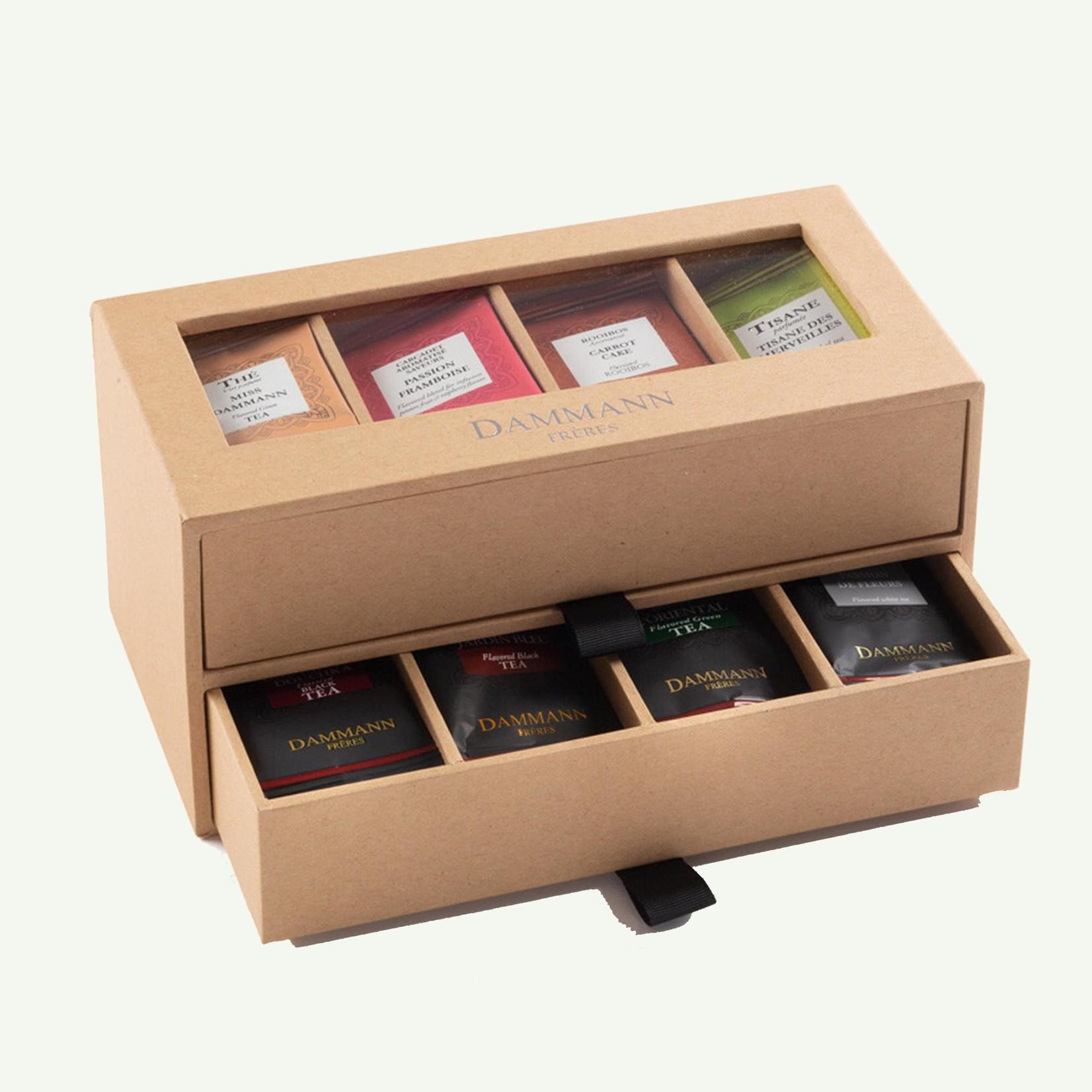 """Dammann Dammann """"7/7"""" Gift Set - 2 Drawers Kraft Case"""