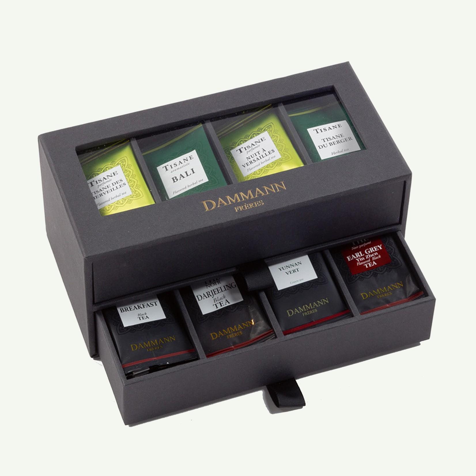 """Dammann Dammann """"24/24"""" Gift Set - 2 Drawers Black Case"""