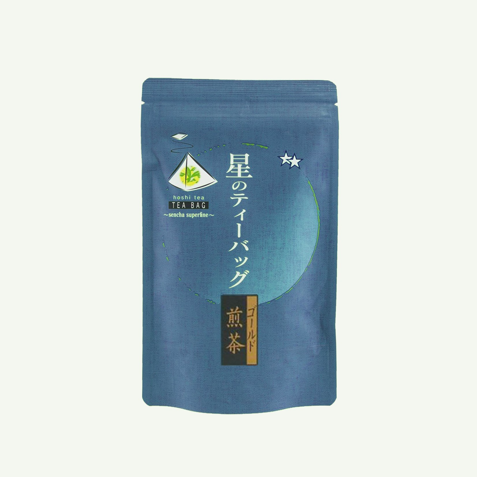 Japan Sencha Gold Hoshino 15x5g - Theebuiltjes