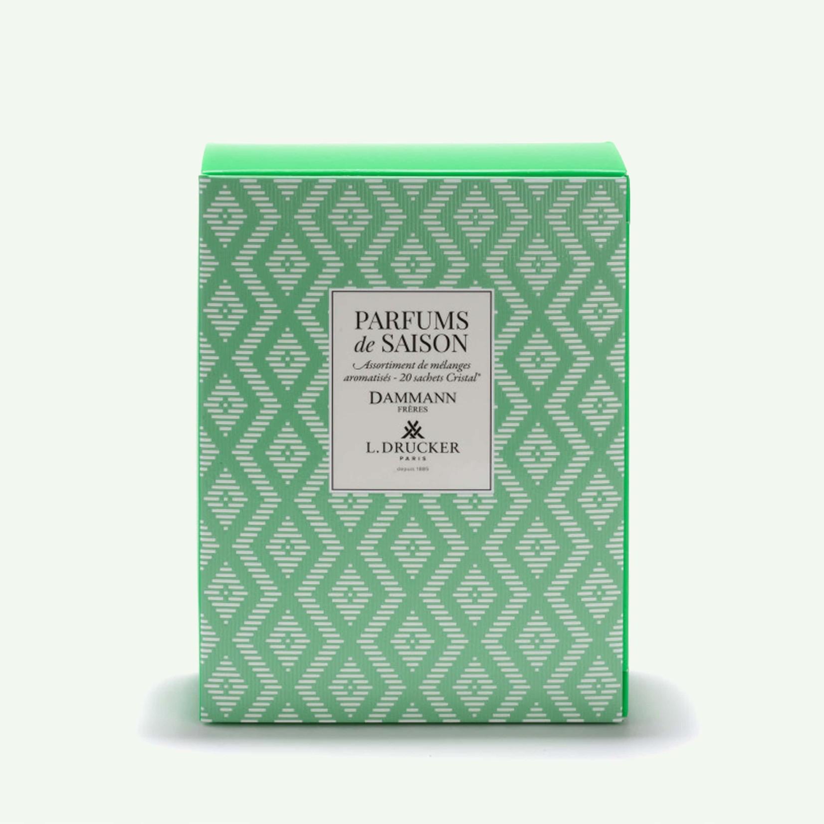 """Dammann """"Parfum de Saison"""" Green Gift Set - 20 Teabags"""