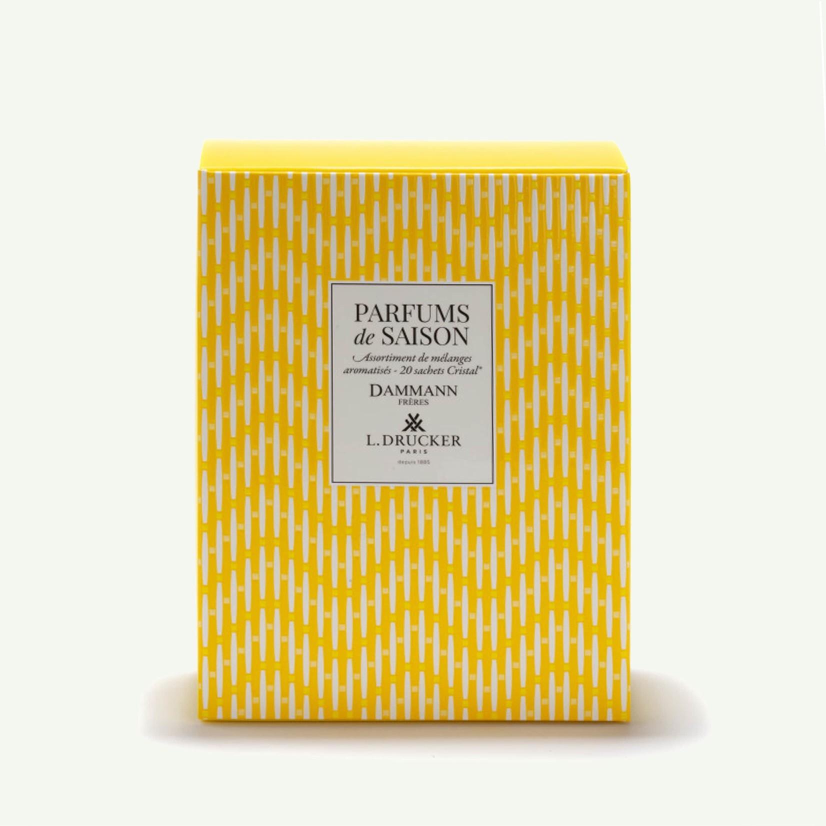 """Dammann """"Parfum de Saison"""" Yellow Gift Set - 20 Teabags"""