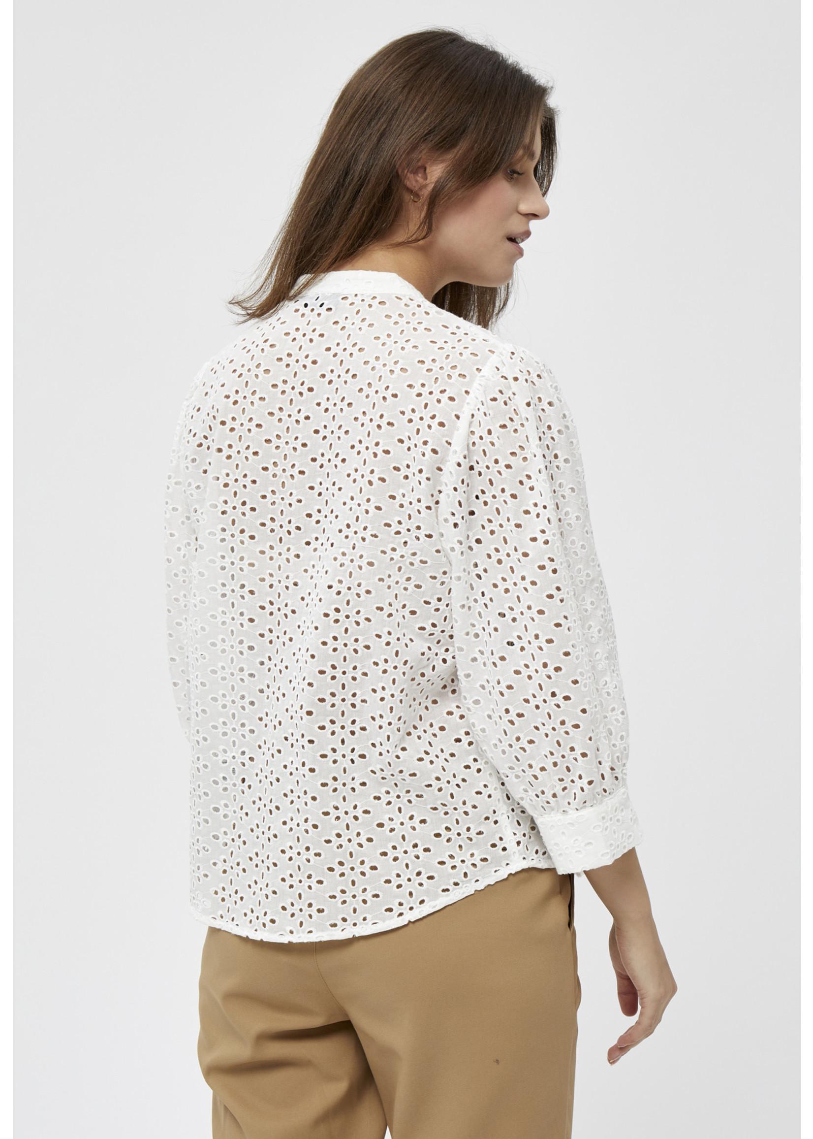 PEPPERCORN Ninna Shirt WHITE