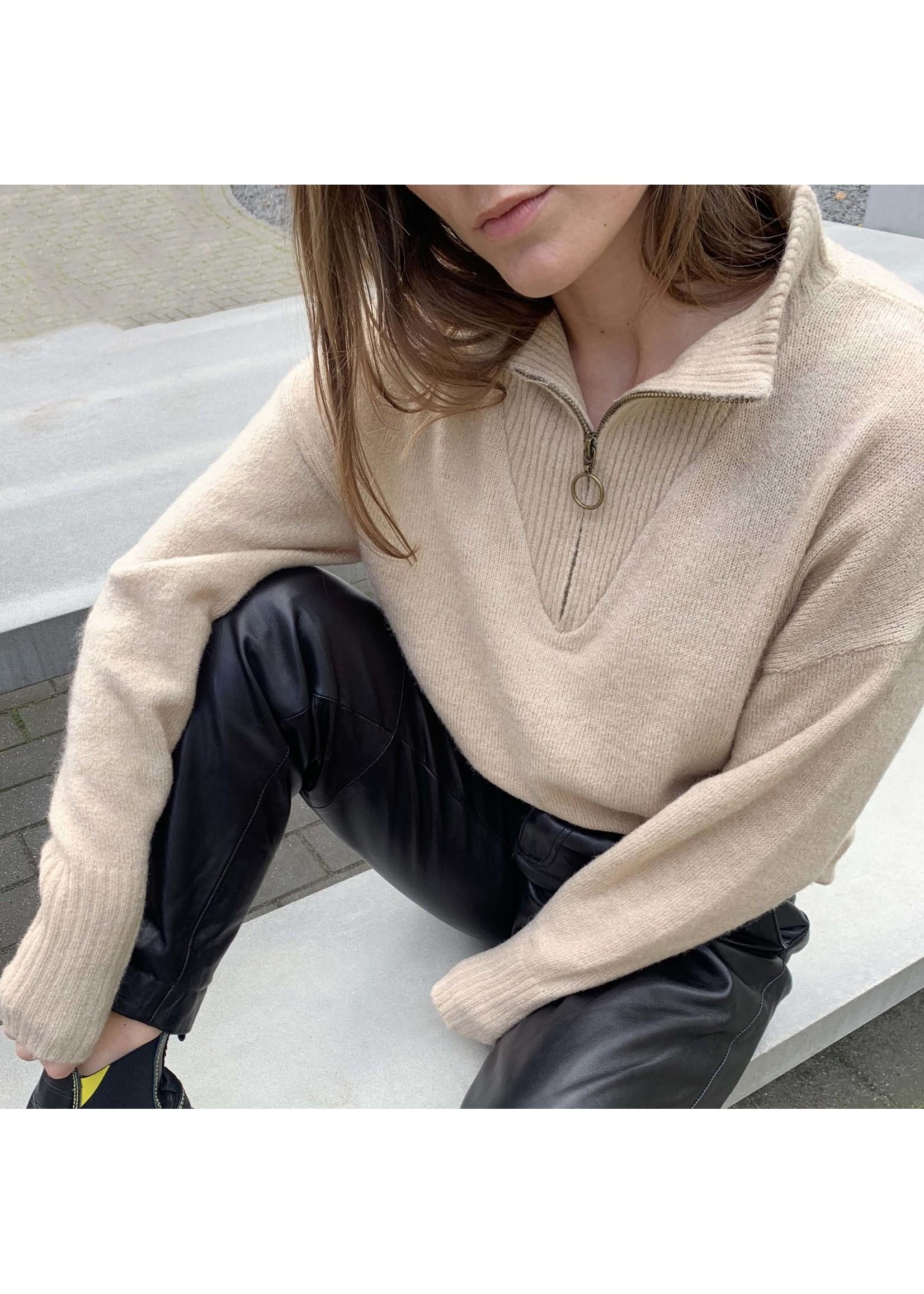 MINUS Andria knit pullover  Vanilla