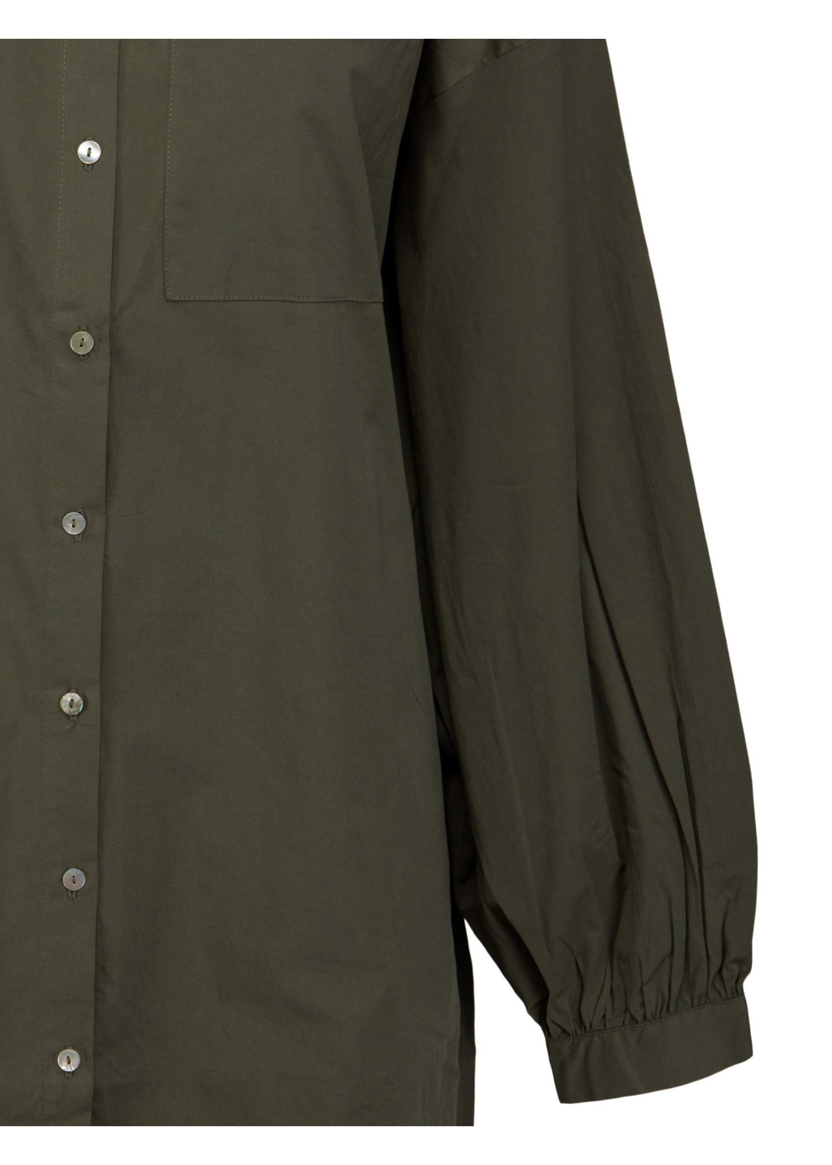 MINUS Iluna shirt dress army green