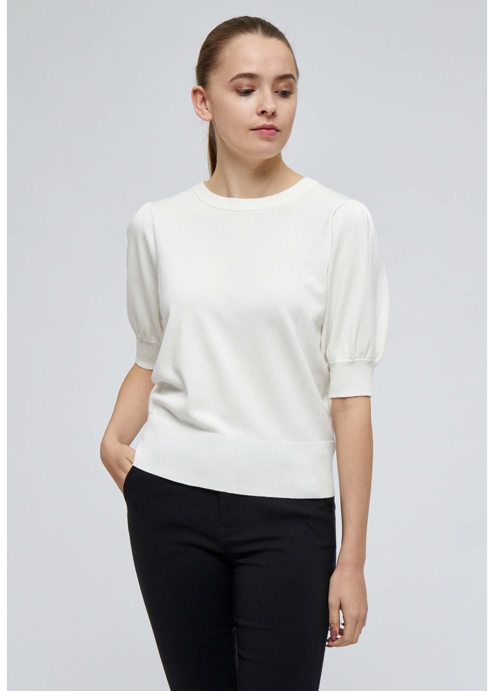 MINUS Liva knit tee broken white