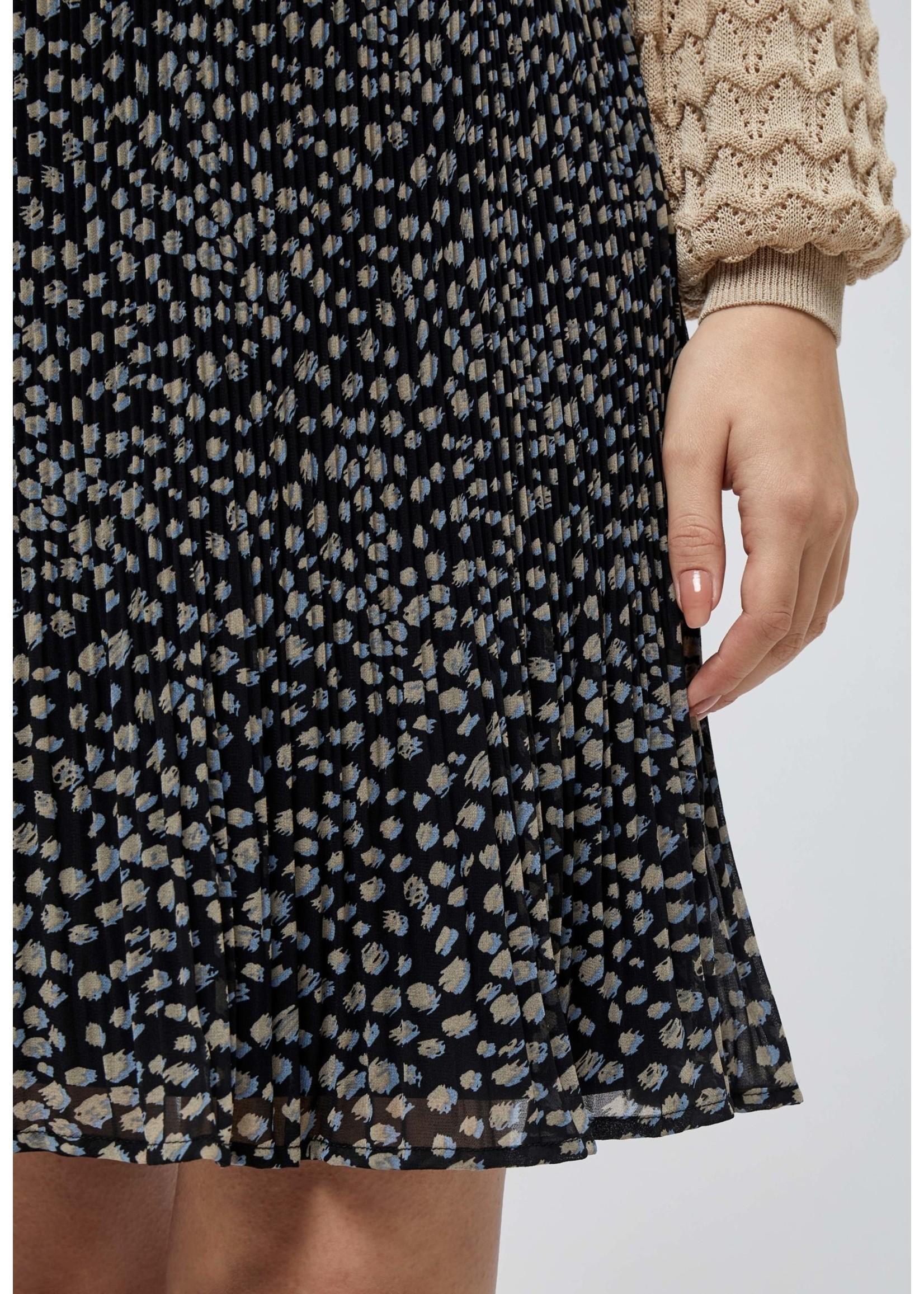 MINUS Maj skirt Powder blue dots
