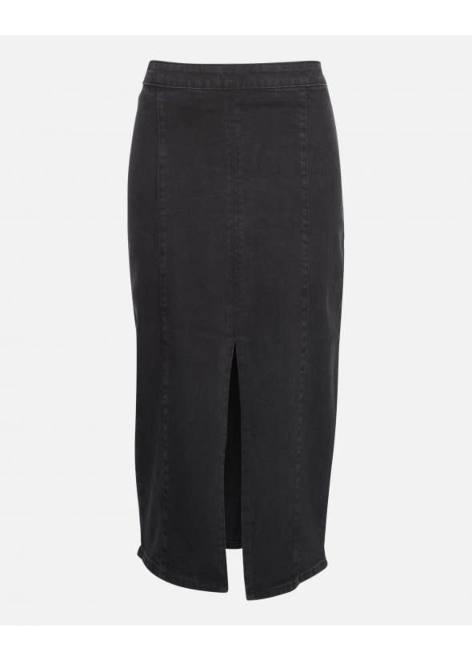 MSCH Enna Rikka Denim Skirt Black