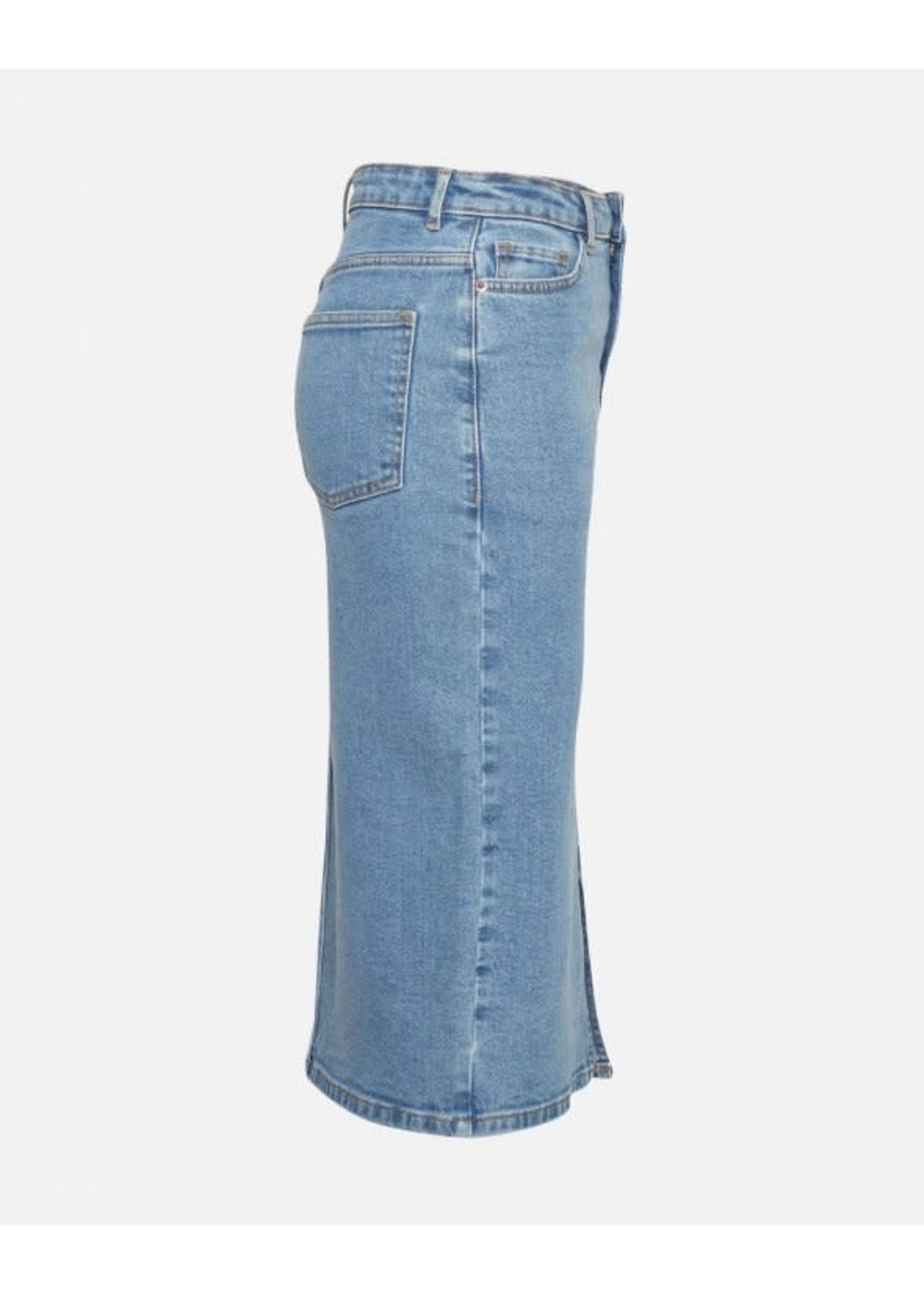 MSCH Calissa Rikka Denim Skirt Vintage blue