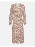 MSCH Camly Rikkelie LS Dress Bellini Leaf