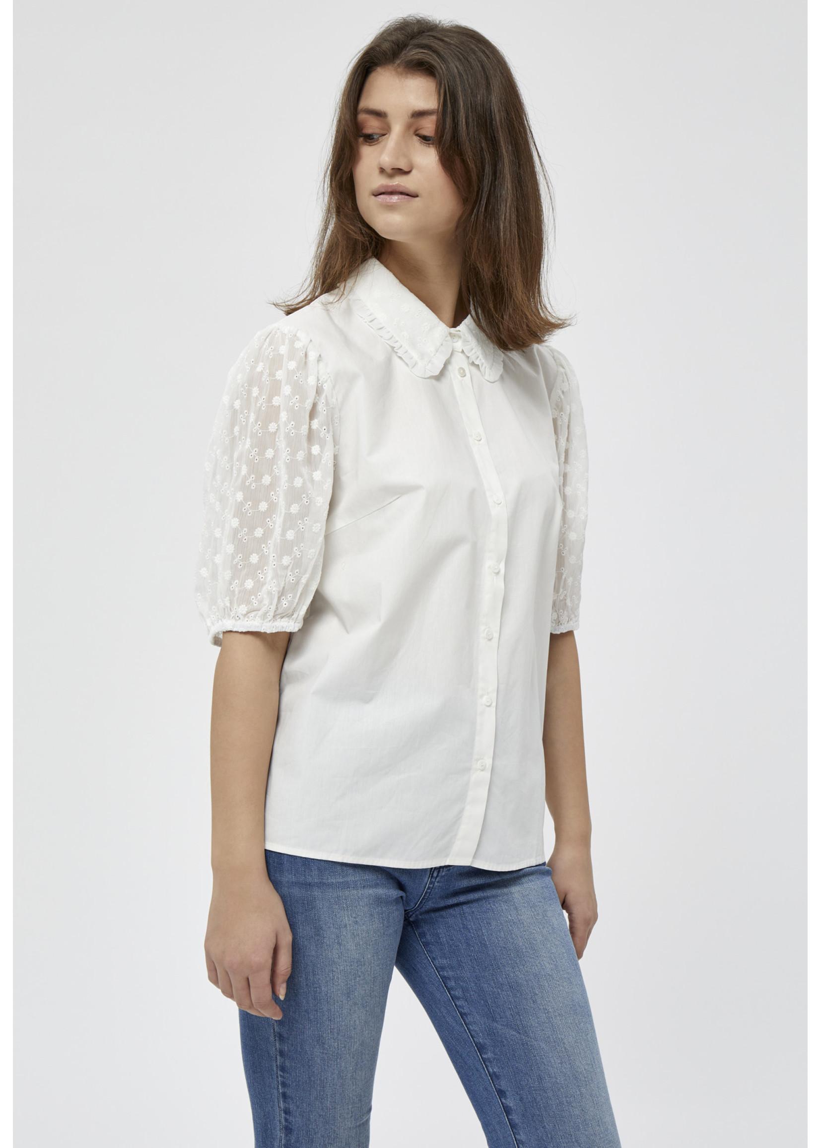 PEPPERCORN Nikoline Shirt Wit