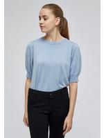 MINUS Liva knit tee Dusty blue