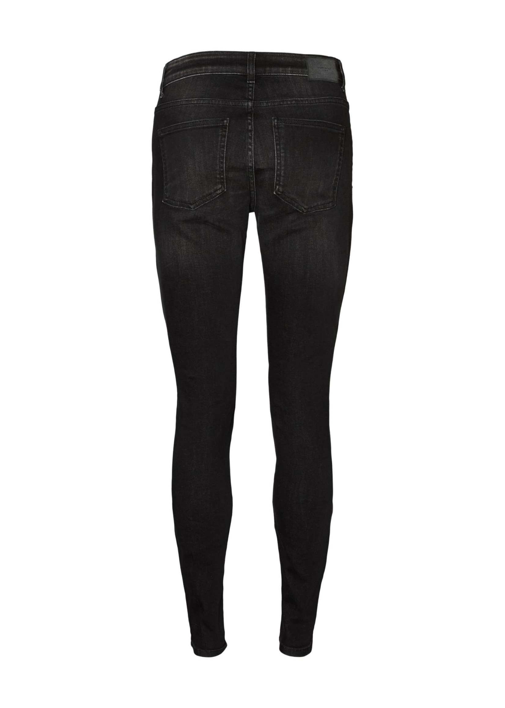 VERO MODA Ella MR Slim jeans Black