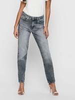 ONLY Veneda Life mom jeans Medium grey denim