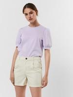 VERO MODA KERRY 2/4 O-NECK TOP  VMA COLOR Pastel Lilac