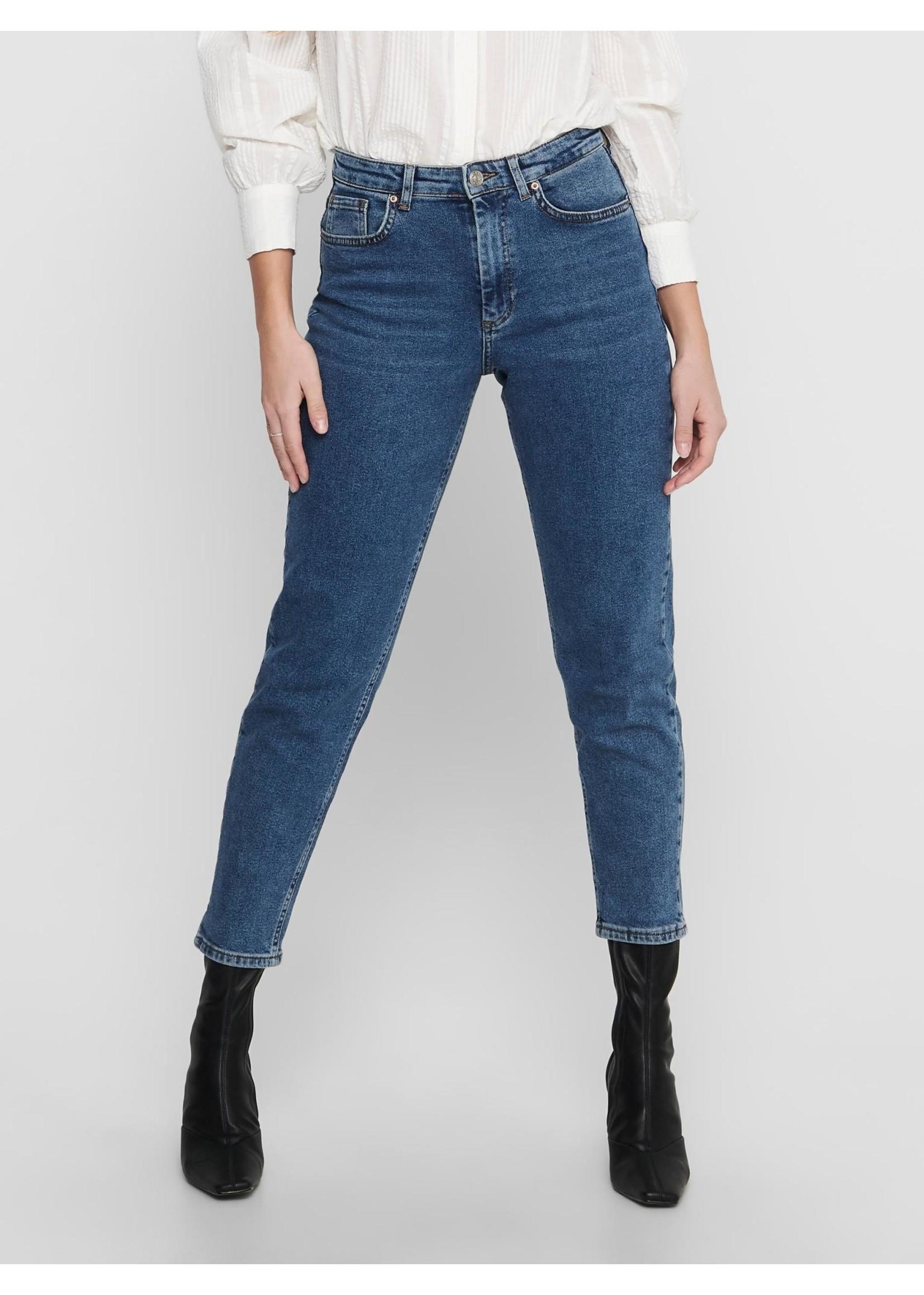 ONLY Veneda Life mom jeans dark blue