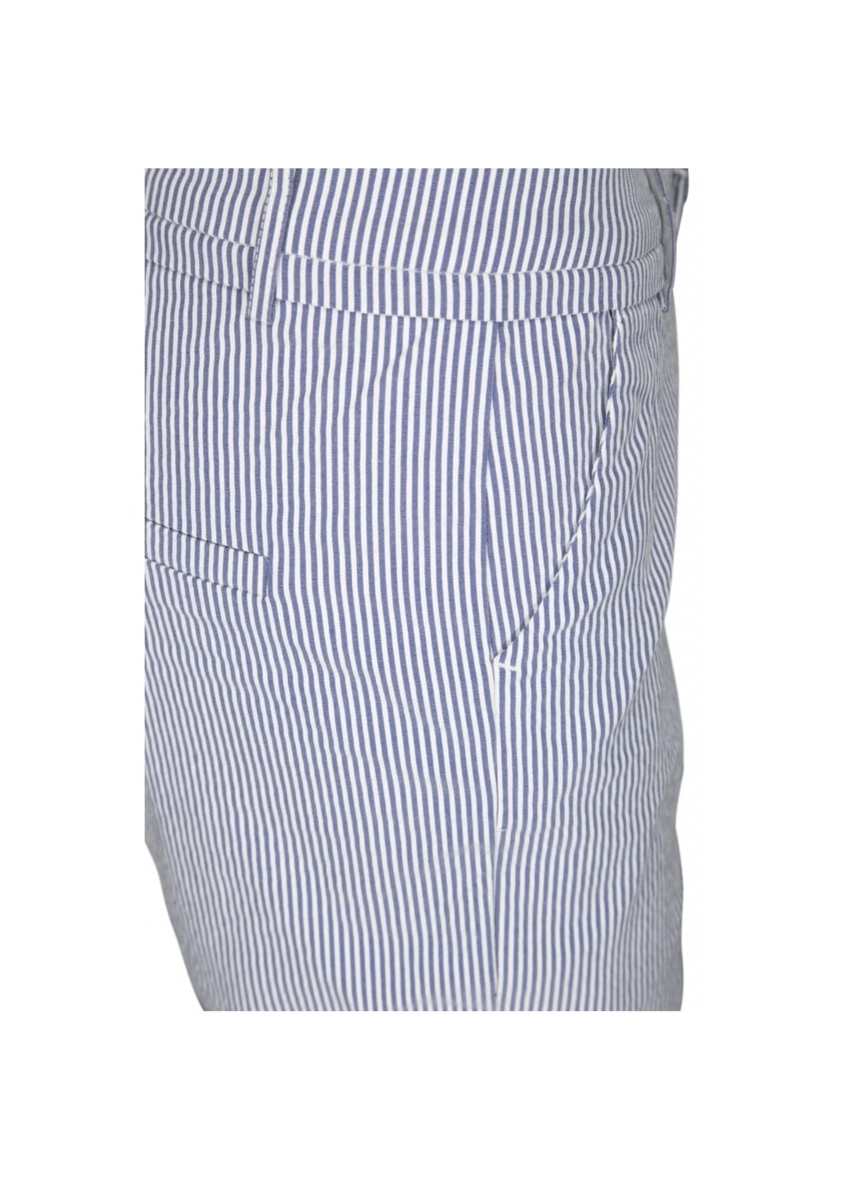 MINUS New Carma check 7/8 pants stripe