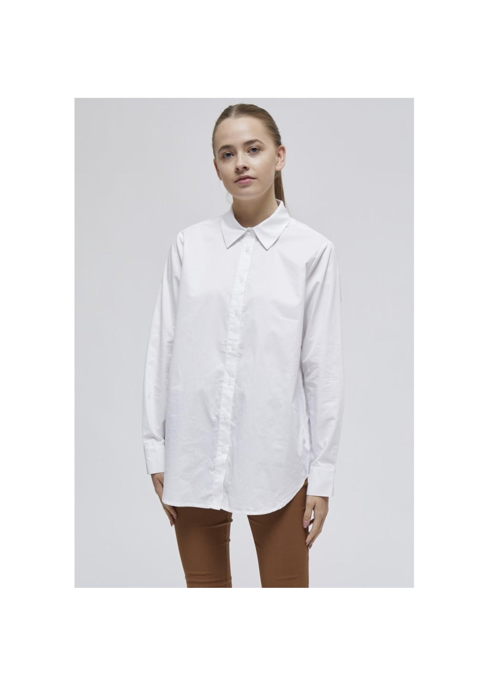 MINUS Vaia oversize shirt wit