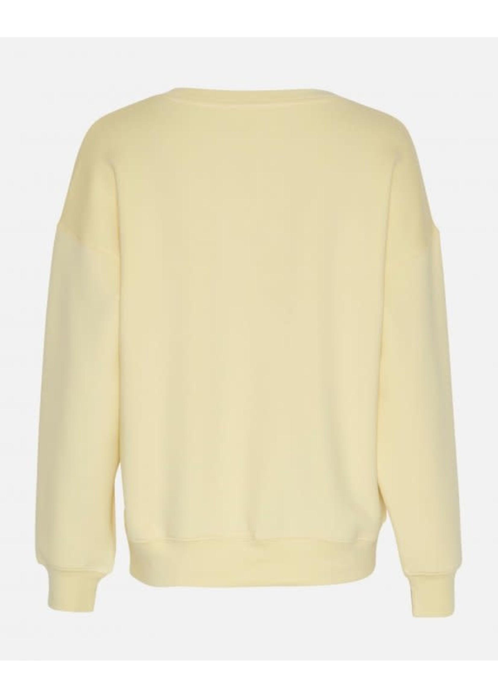 MSCH Ima DS Sweatshirt, Pale banana