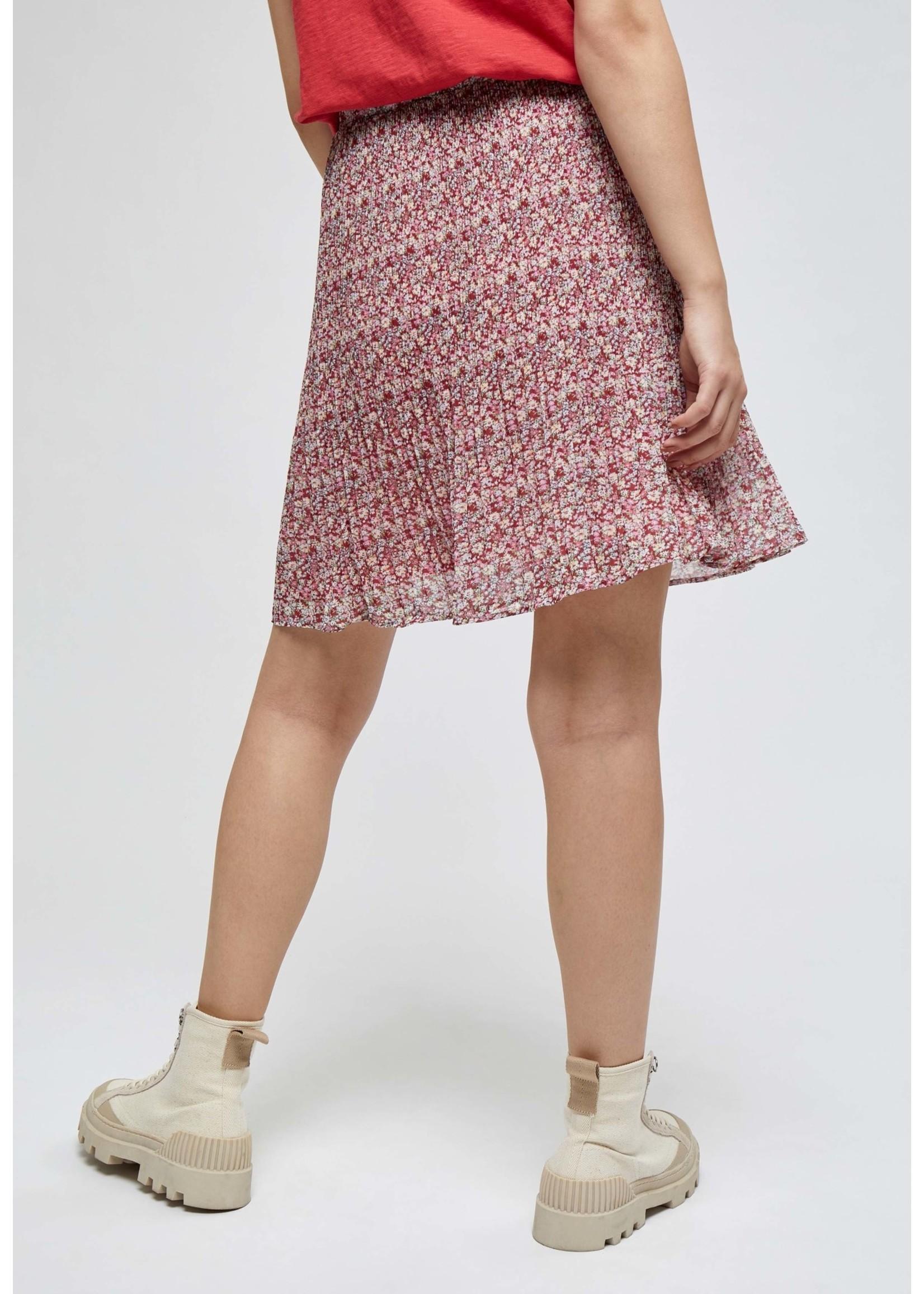 MINUS Rikka Short Skirt Pink flower print