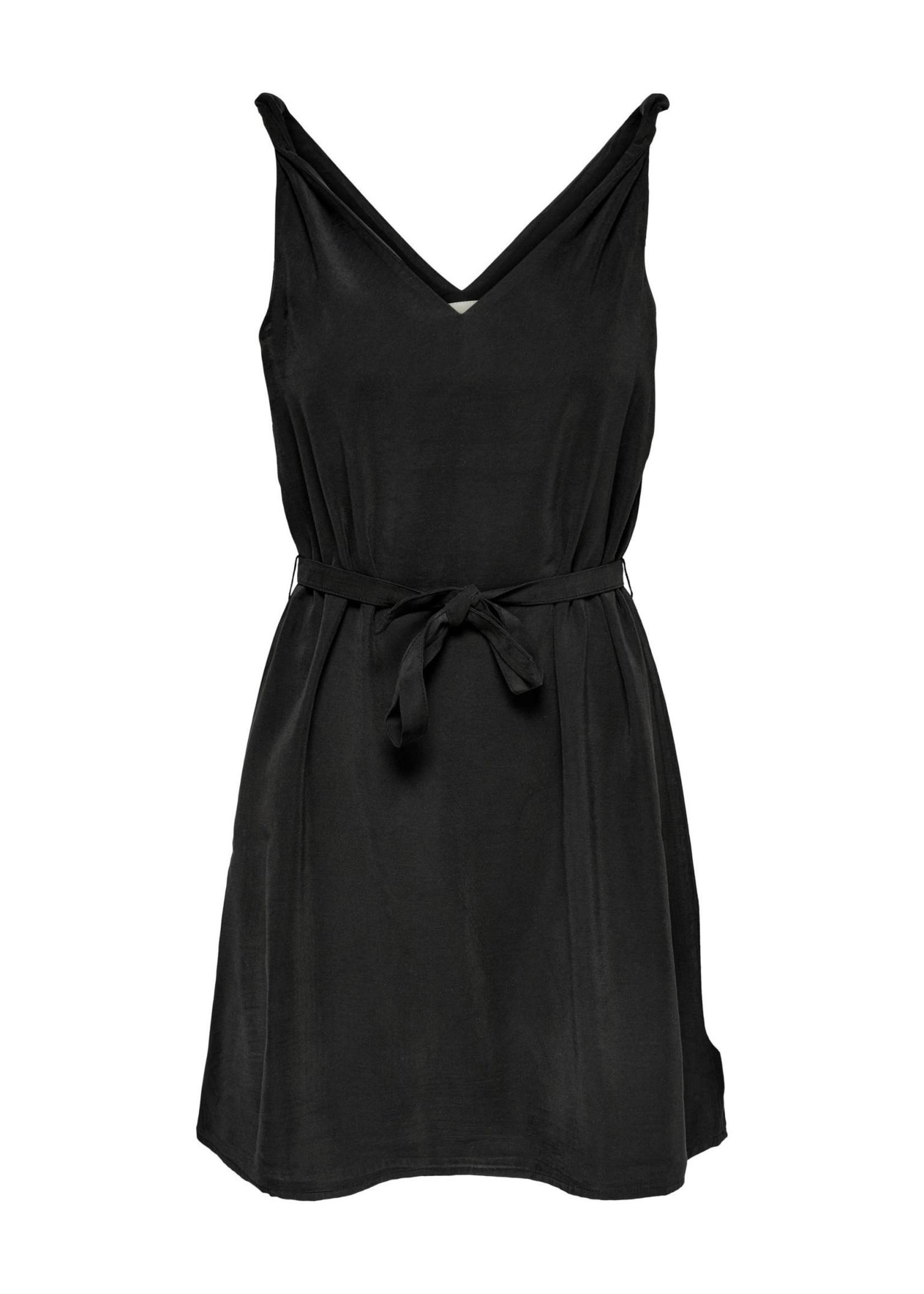 ONLY ARIS LIFE S/L DRESS PNT Black