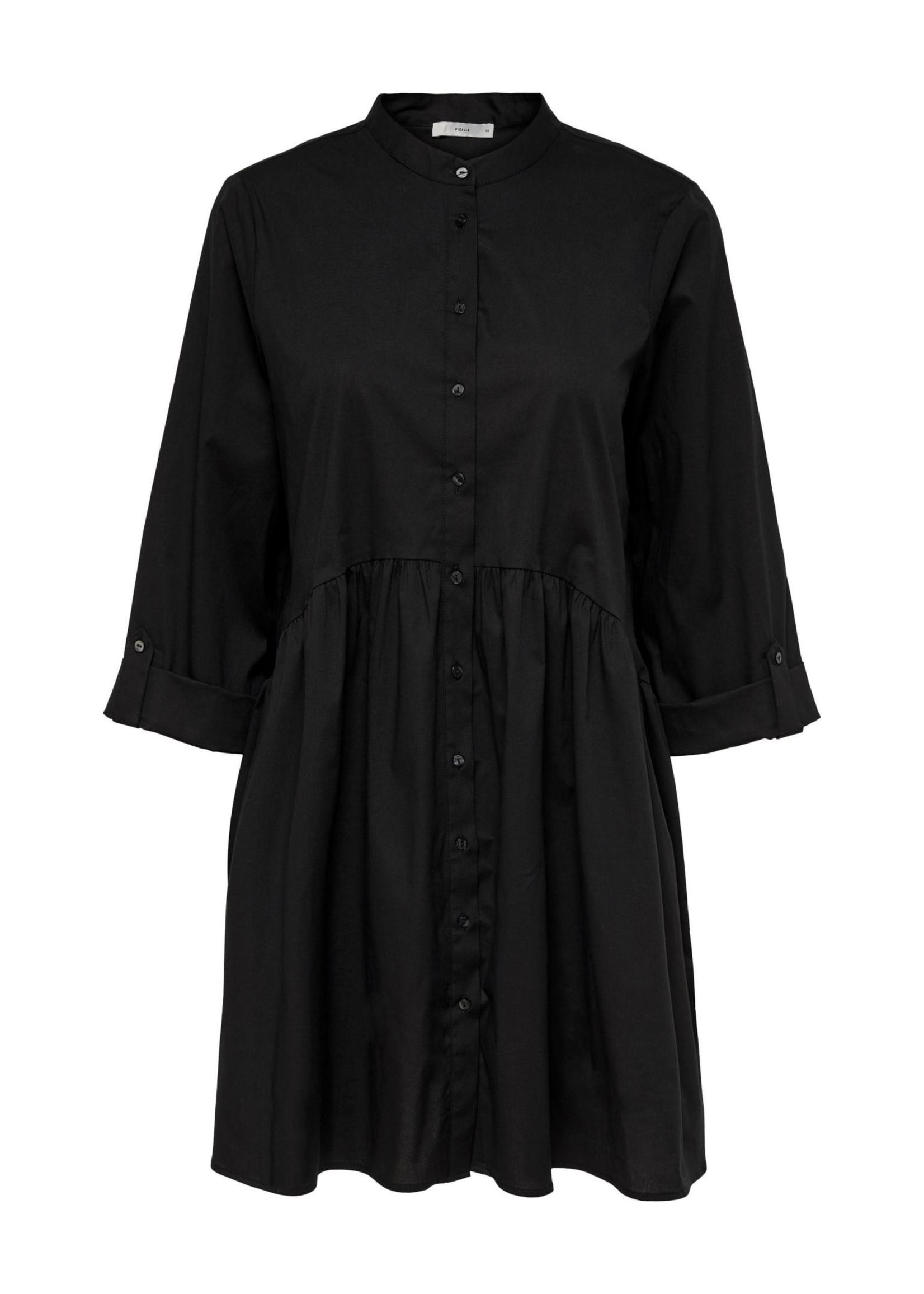 ONLY Ditte life 3/4 shirt dress black