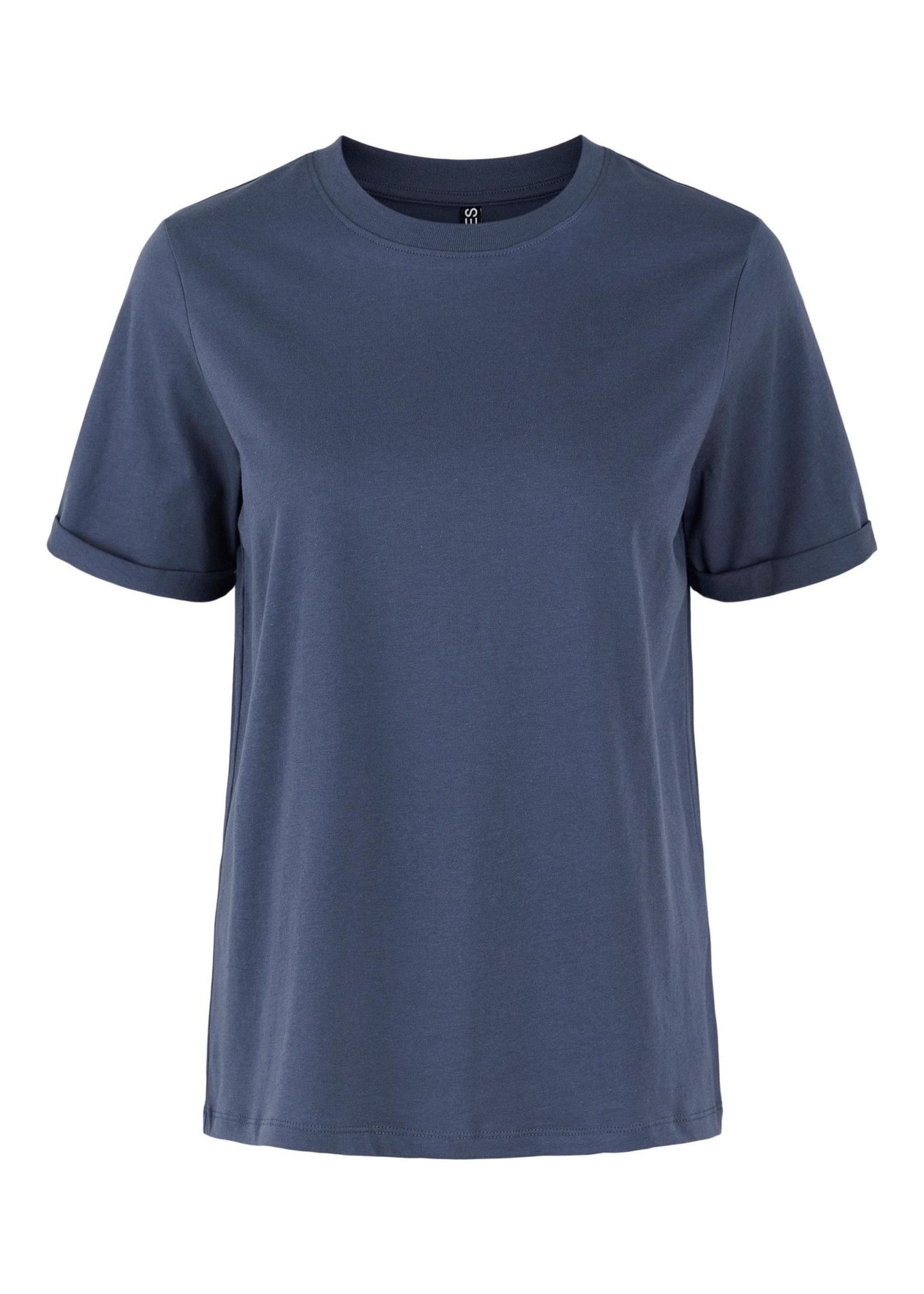PIECES RIA SS FOLD UP TEE,ombre blue