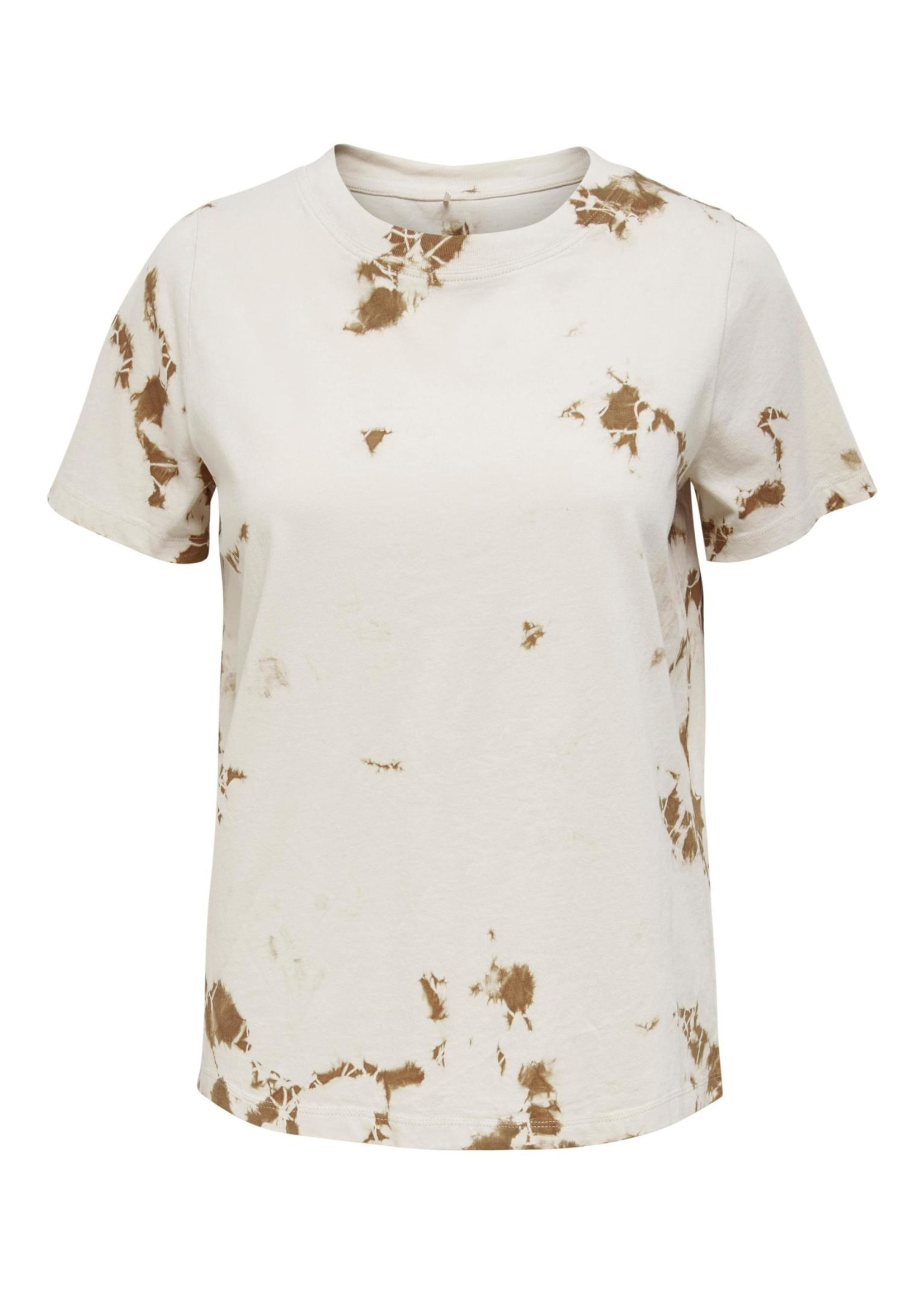 ONLY FINE LIFE S/S TOP JRS, pumice stone