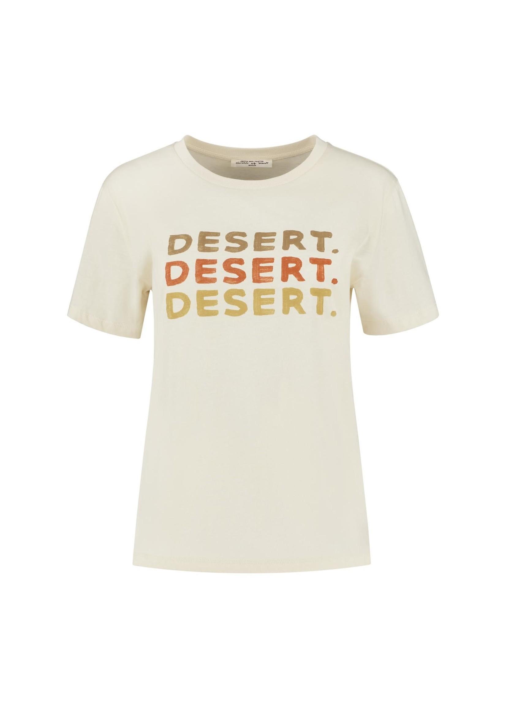 CIRCLE OF TRUST SURI TEE dessert sand