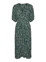 VERO MODA PILOU 2/4 CALF SHIRT DRESS WVN GA sea moss