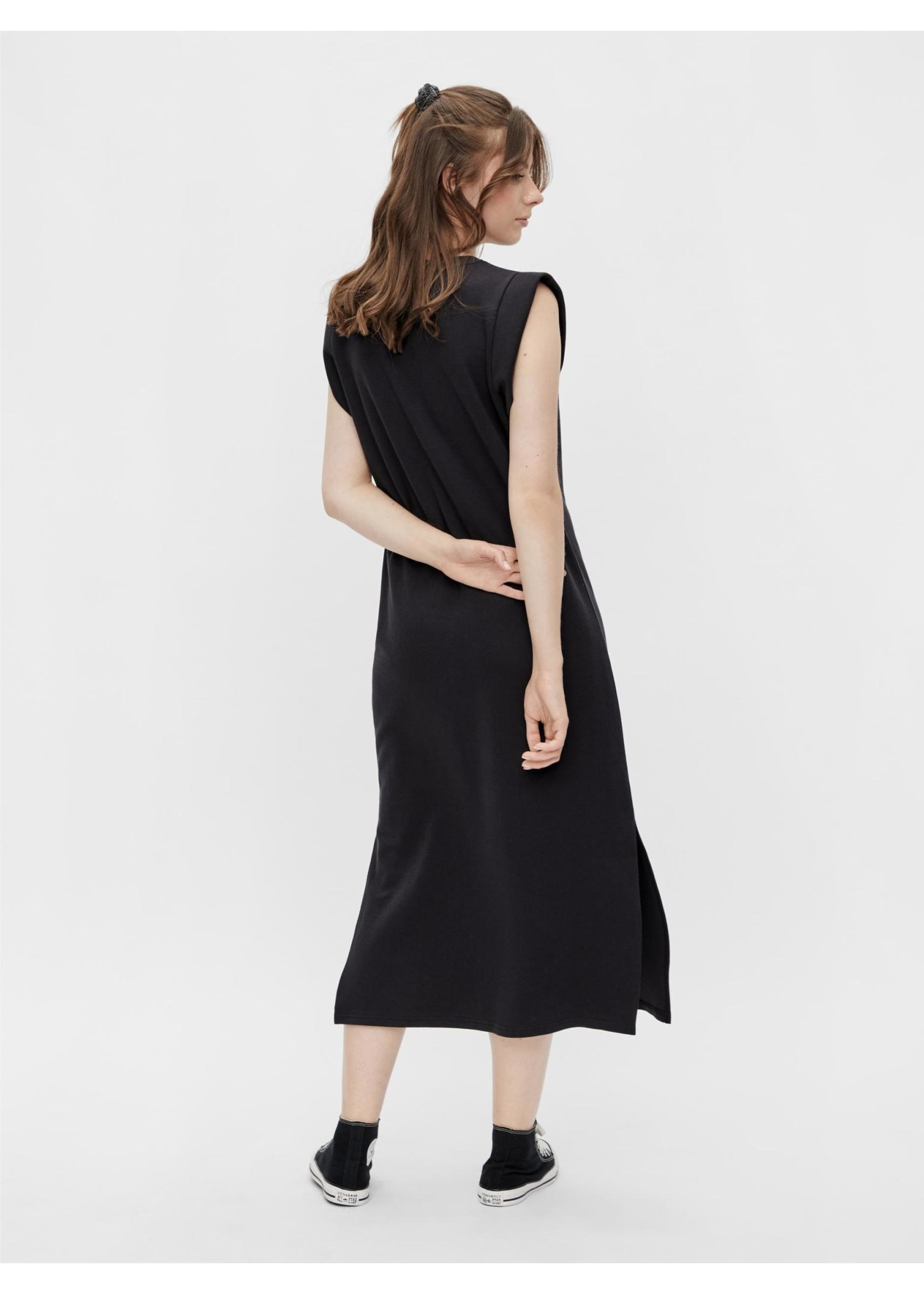 PIECES TEMMO SL  ANKLE DRESS,black
