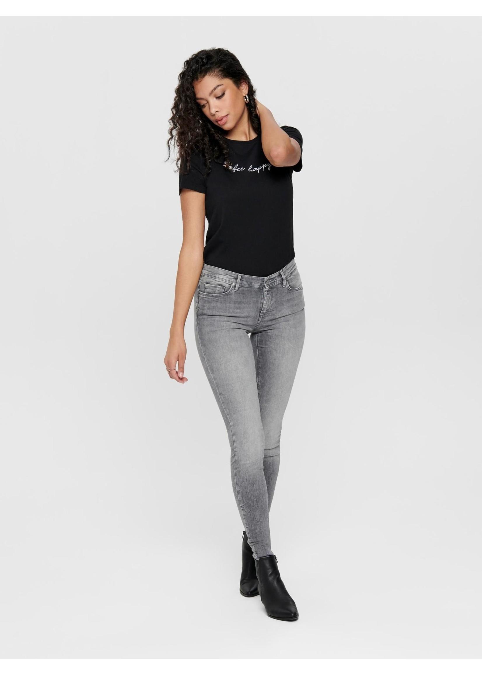 ONLY Shape reg sk dom jeans rea4732 light grey