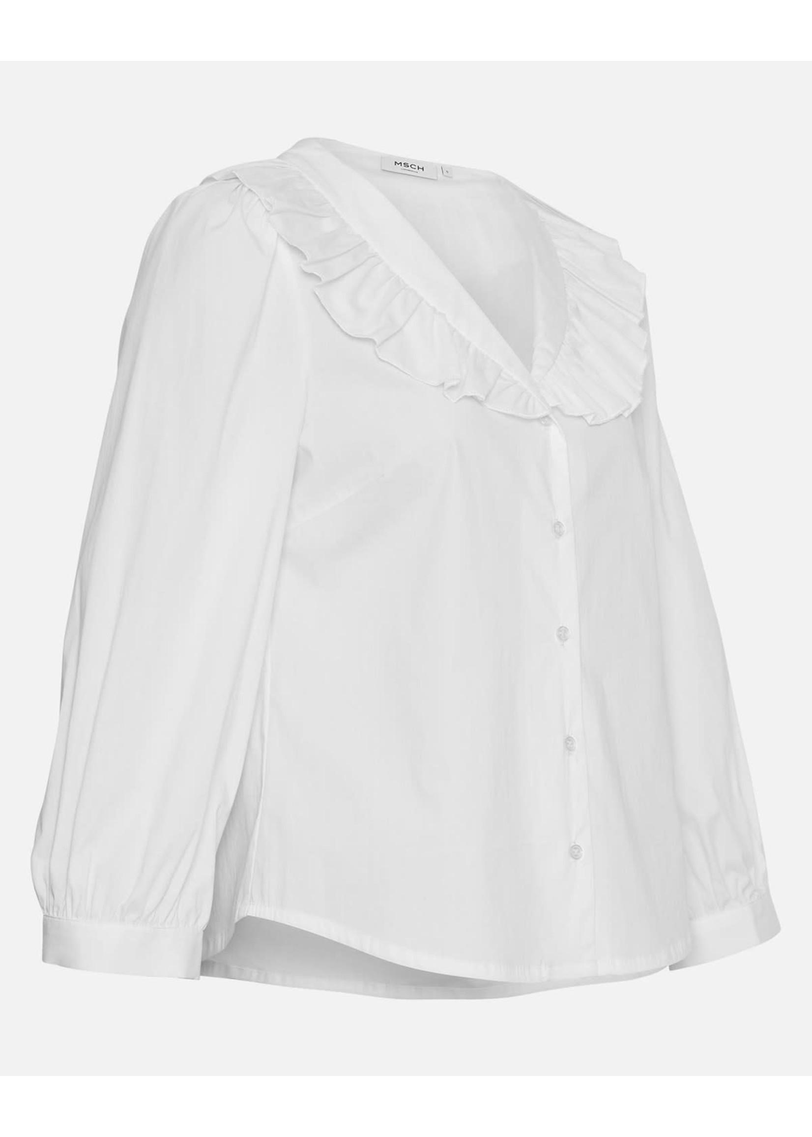 MSCH BRISA AVA 3/4 SHIRT bright white
