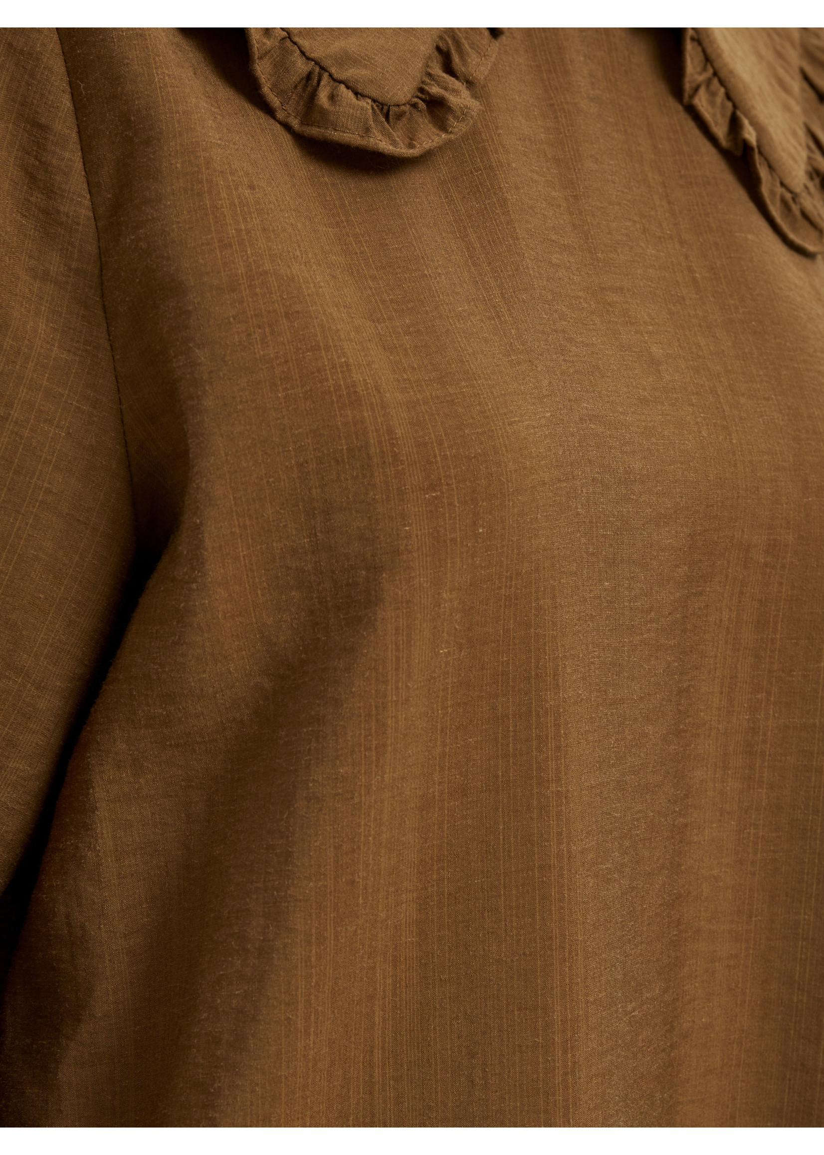 PEPPERCORN JOSEPHINE BLOUSE monk's robe pr