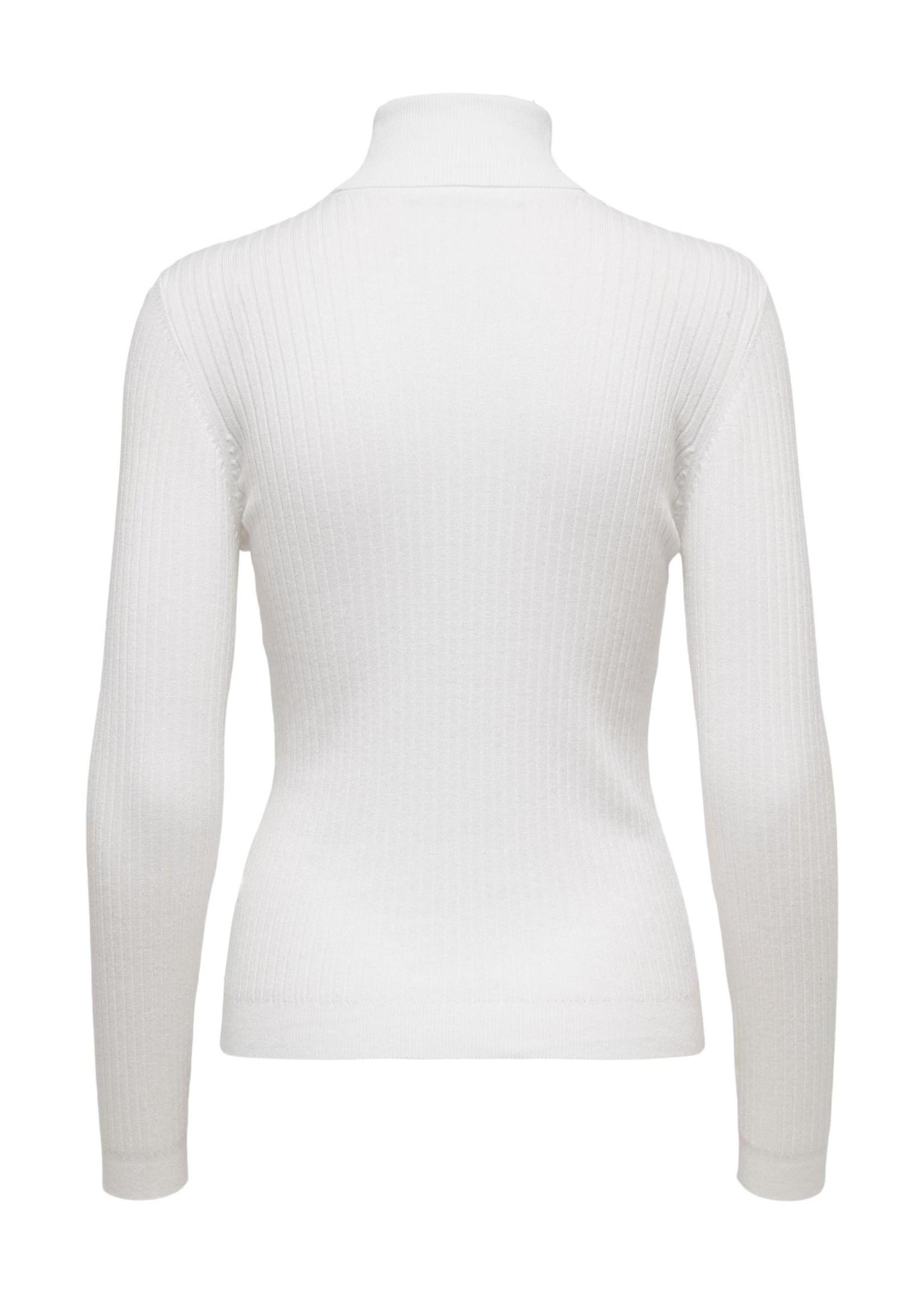 ONLY KAROL L/S ROLLNECK PULLOVER KNT NOOS bright white