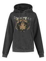 CIRCLE OF TRUST JO HOODIE caviar washed