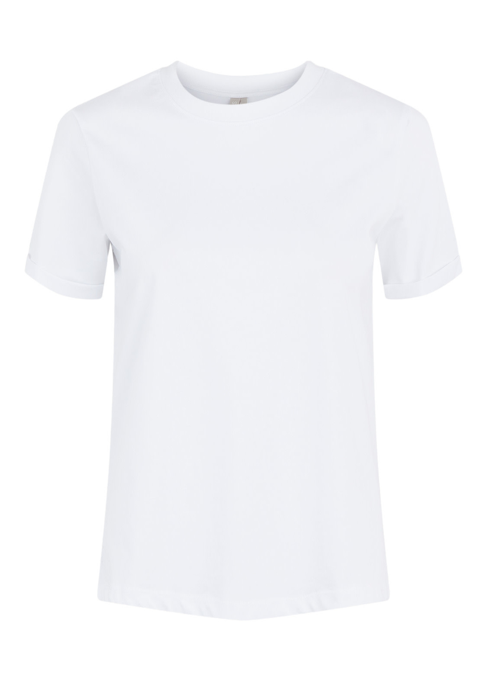PIECES RIA SS FOLD UP TEE,wit