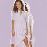 SISTERSPOINT ECA DRESS, wijd vallende jurk in 4 kleuren