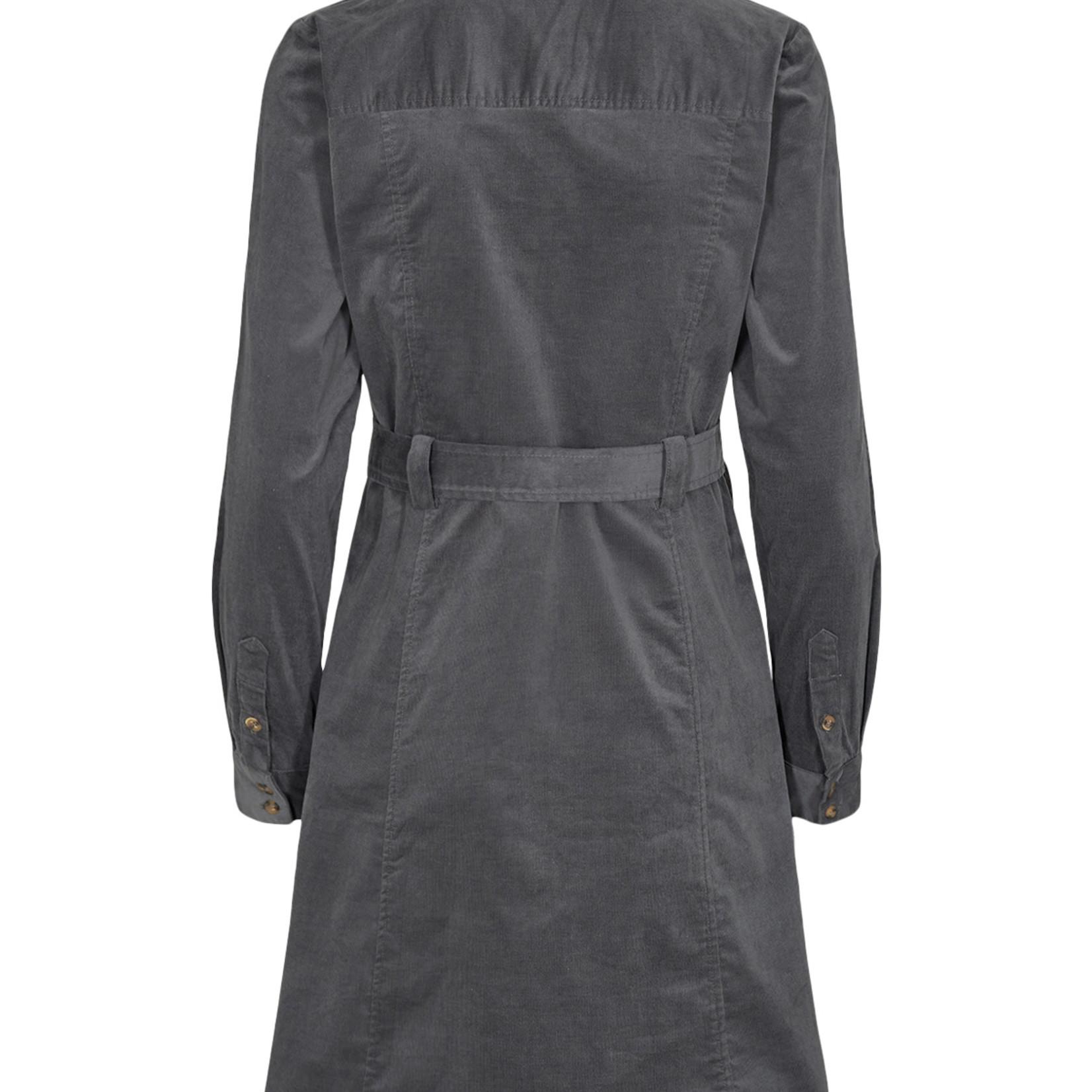 NÜMPH NUMAURYA corduroy dress