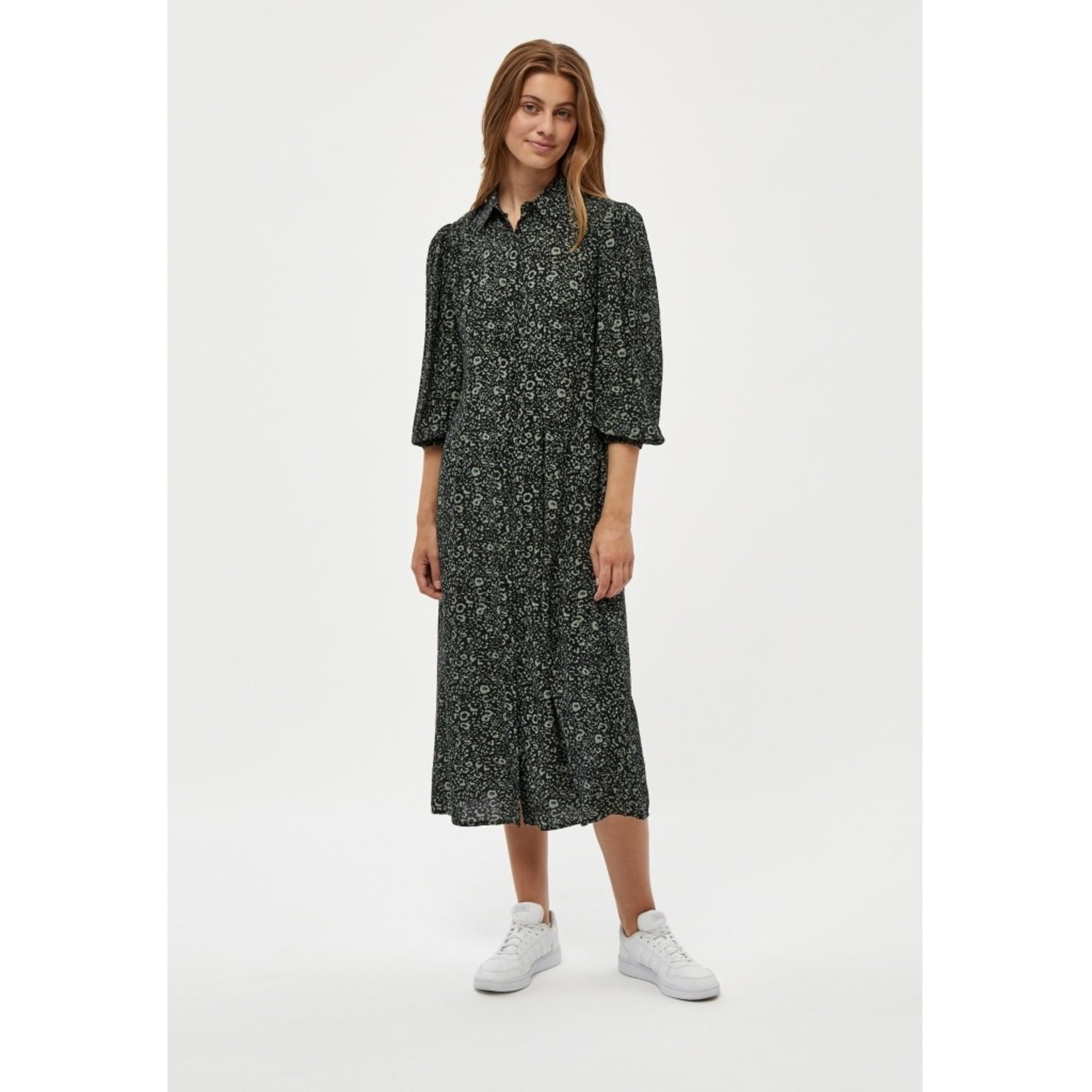 DESIRES GEORGIA SHIRT DRESS, jurk lange mouw