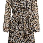 SISTERSPOINT NEW GRETO-LS5, korte jurk bloemen