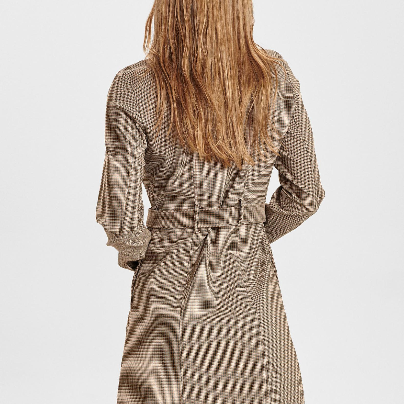 NÜMPH NUCHASE DRESS, jurk ceintuur