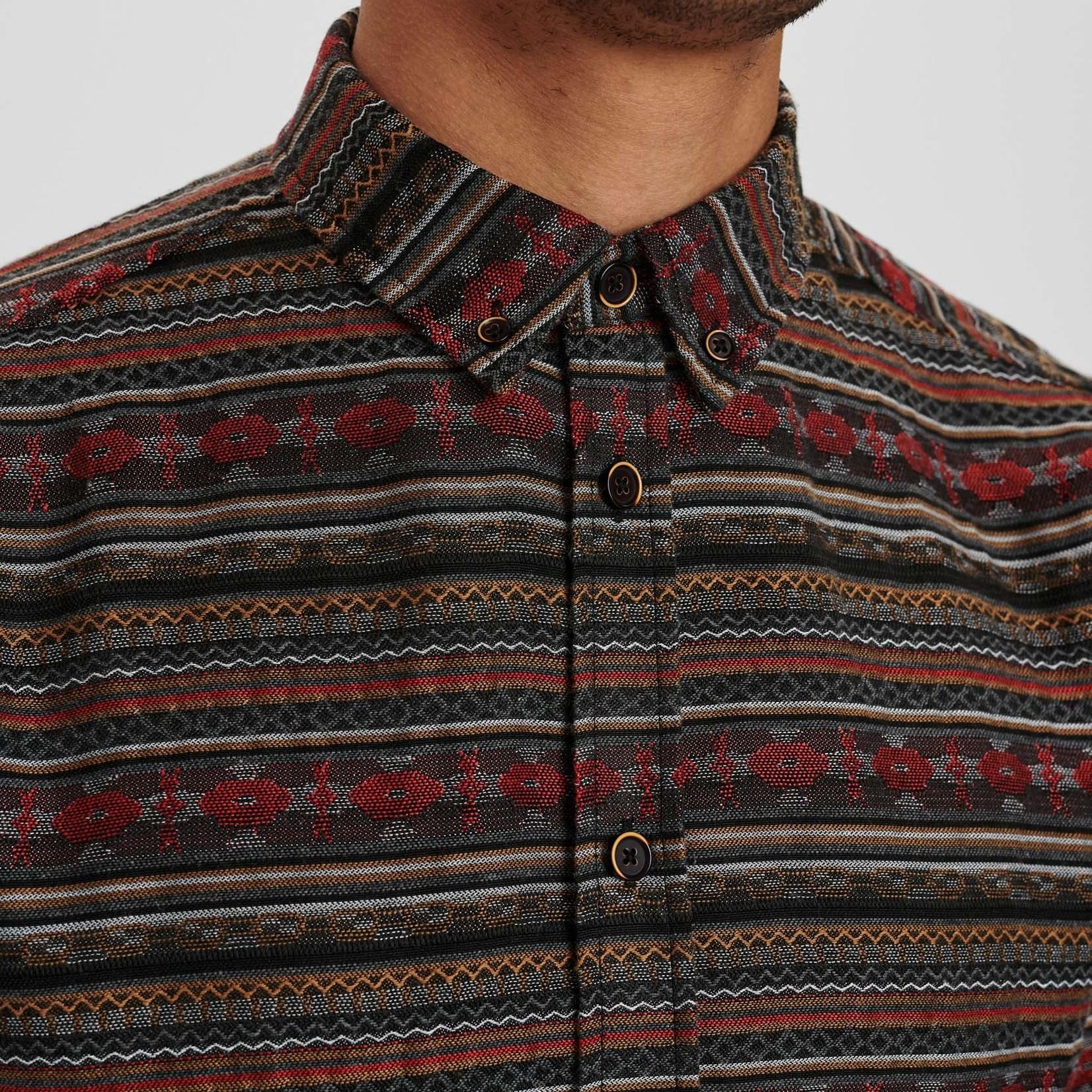ANERKJENDT AKKONRAD JACQUARD INKA SHIRT, blouse