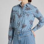 LEE REGULAR WESTERN SHIRT,  denim blouse
