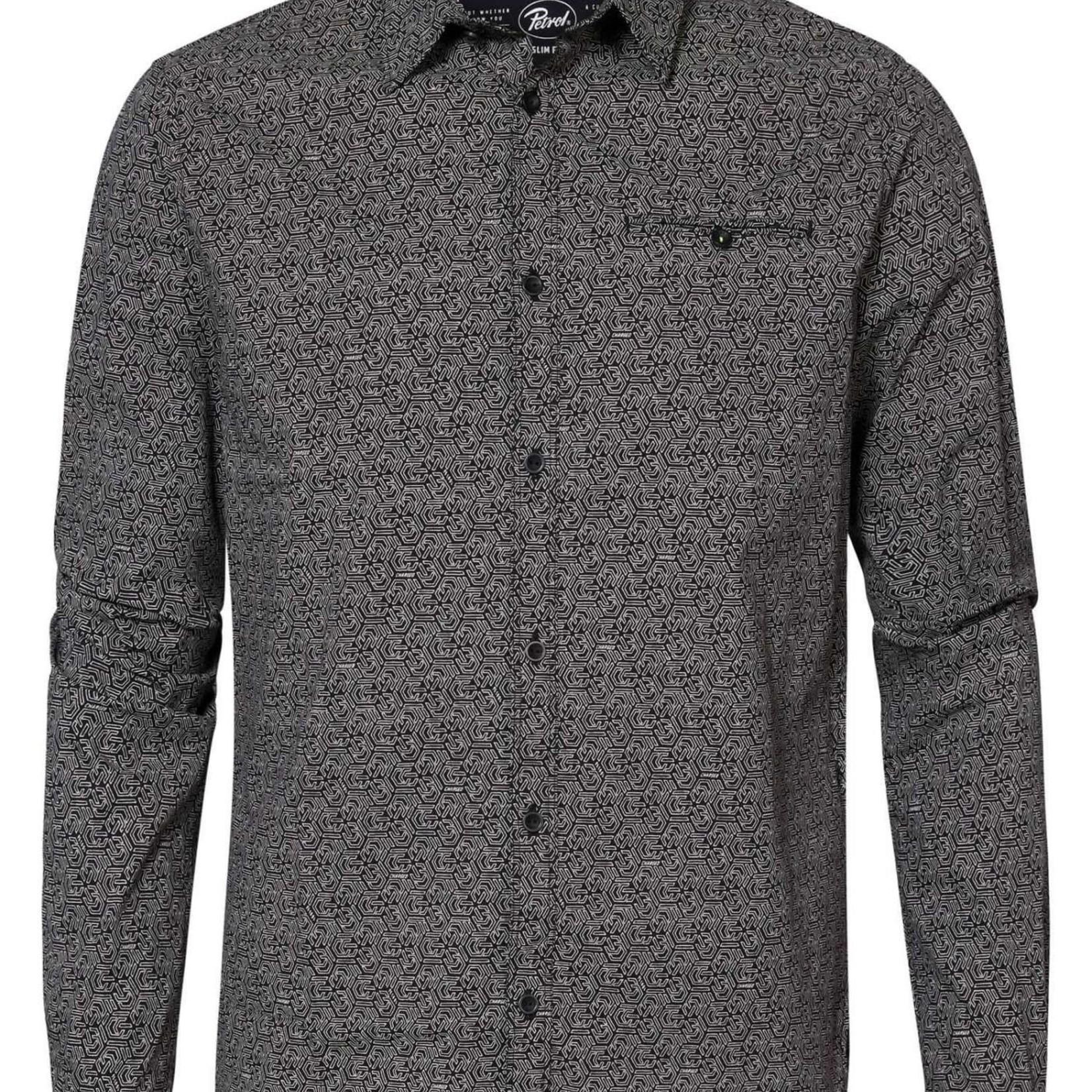 PETROL SHIRT LS, blouse