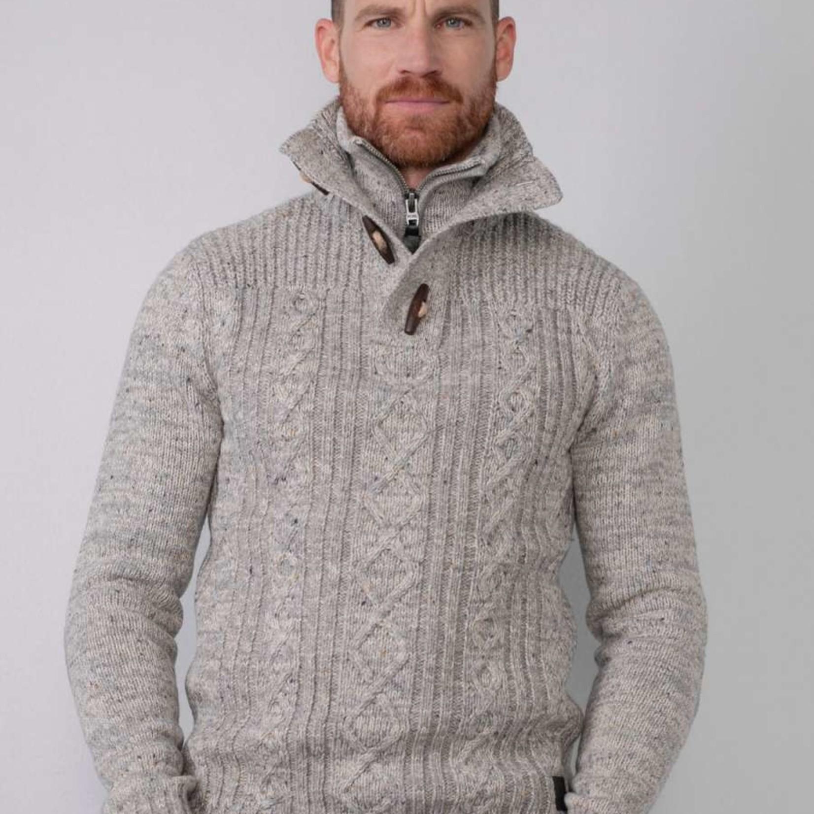 PETROL MEN KNIT WEAR COLLAR, vest